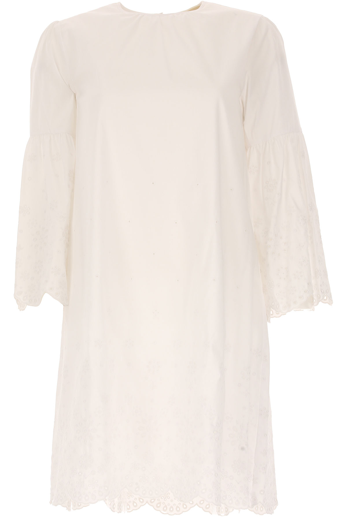 Michael Kors Dress for Women, Evening Cocktail Party On Sale in Outlet, White, Cotton, 2019, 10 6