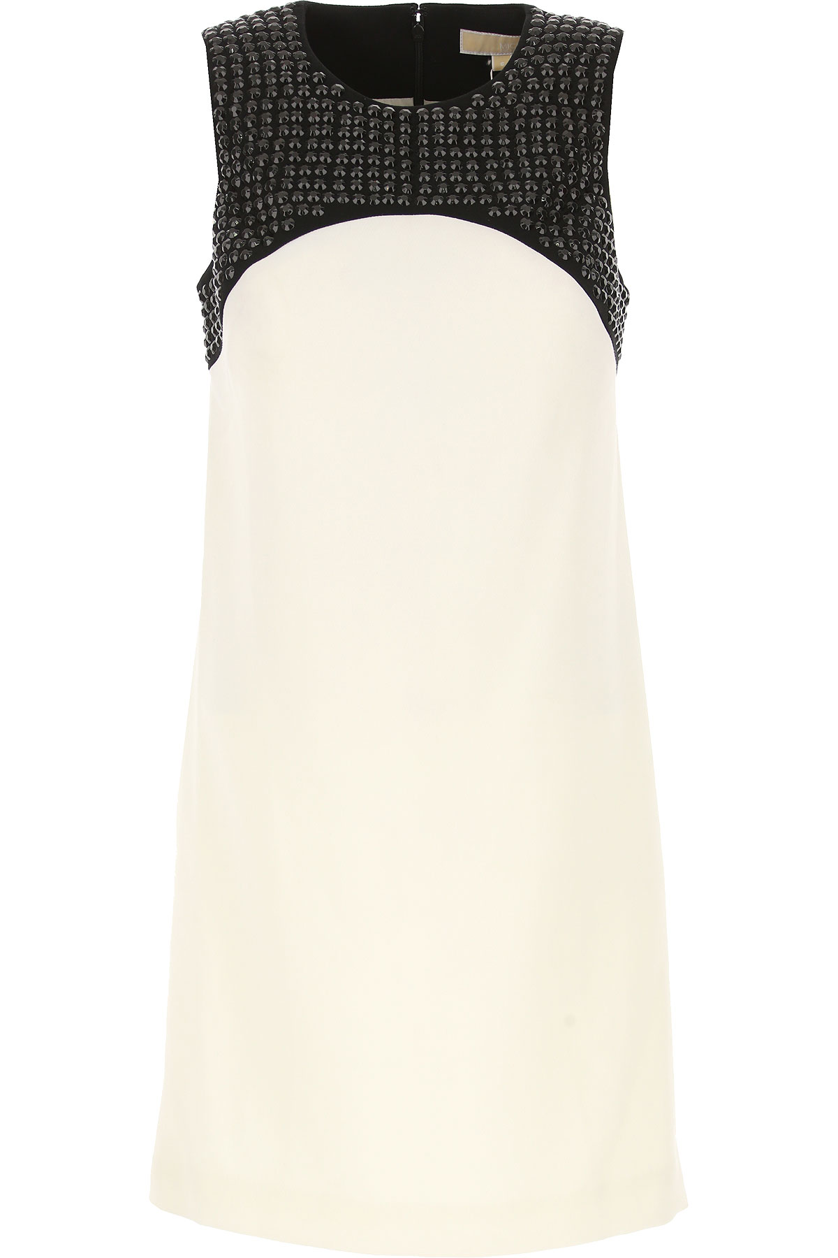 Michael Kors Dress for Women, Evening Cocktail Party On Sale in Outlet, Cream, polyester, 2019, IT 44 - US 6 - F 40 IT 46 - US 8 - F 42