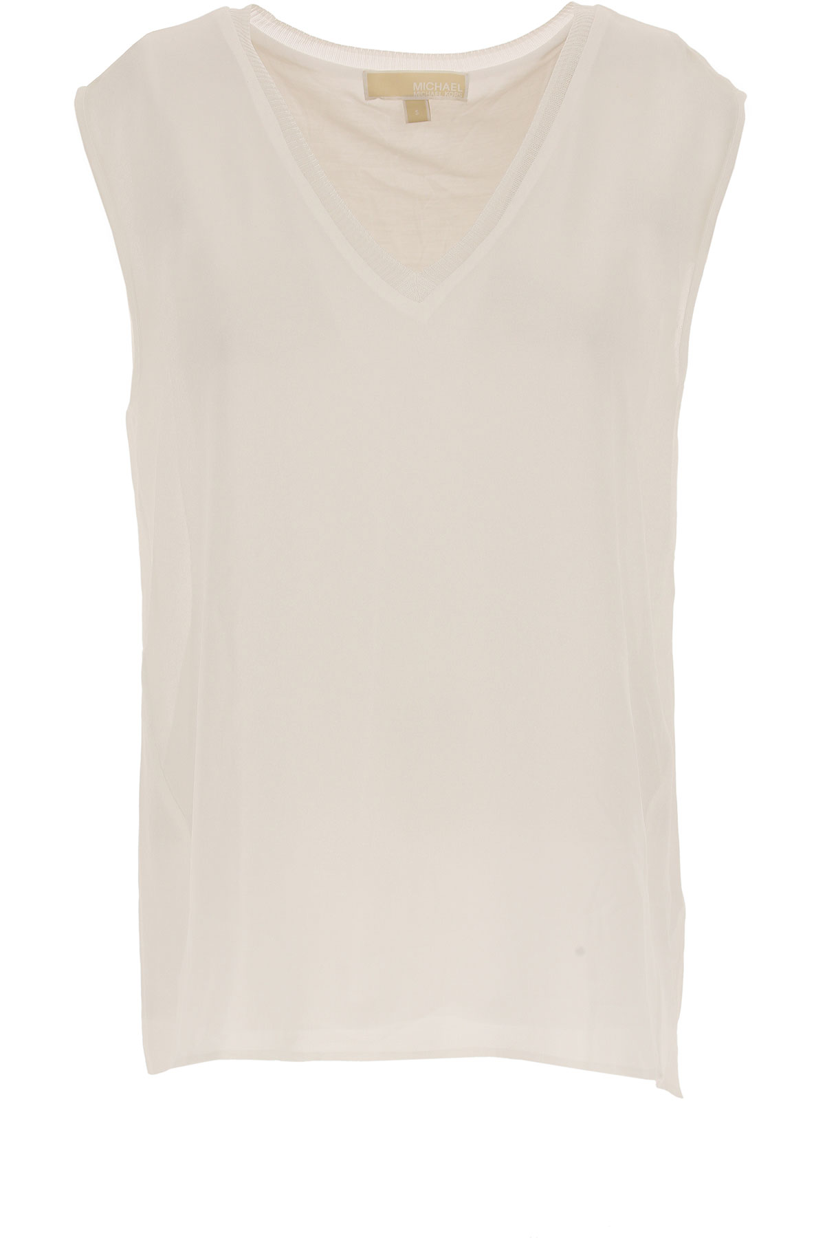 Michael Kors Top for Women On Sale in Outlet, White, polyester, 2019, 4 6 8