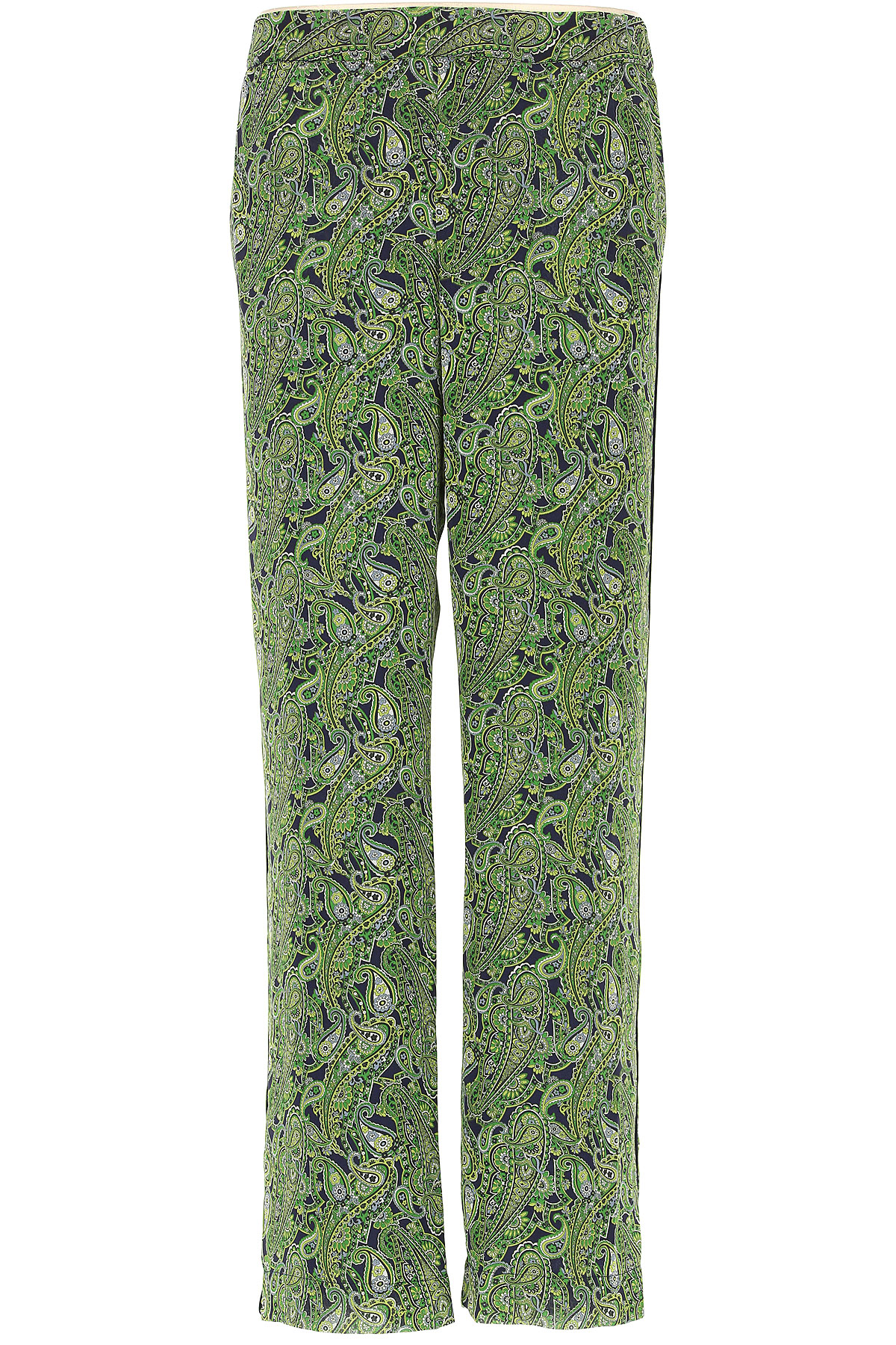 Michael Kors Pantaloni Donna, Verde, polyester, 2019, 38 40
