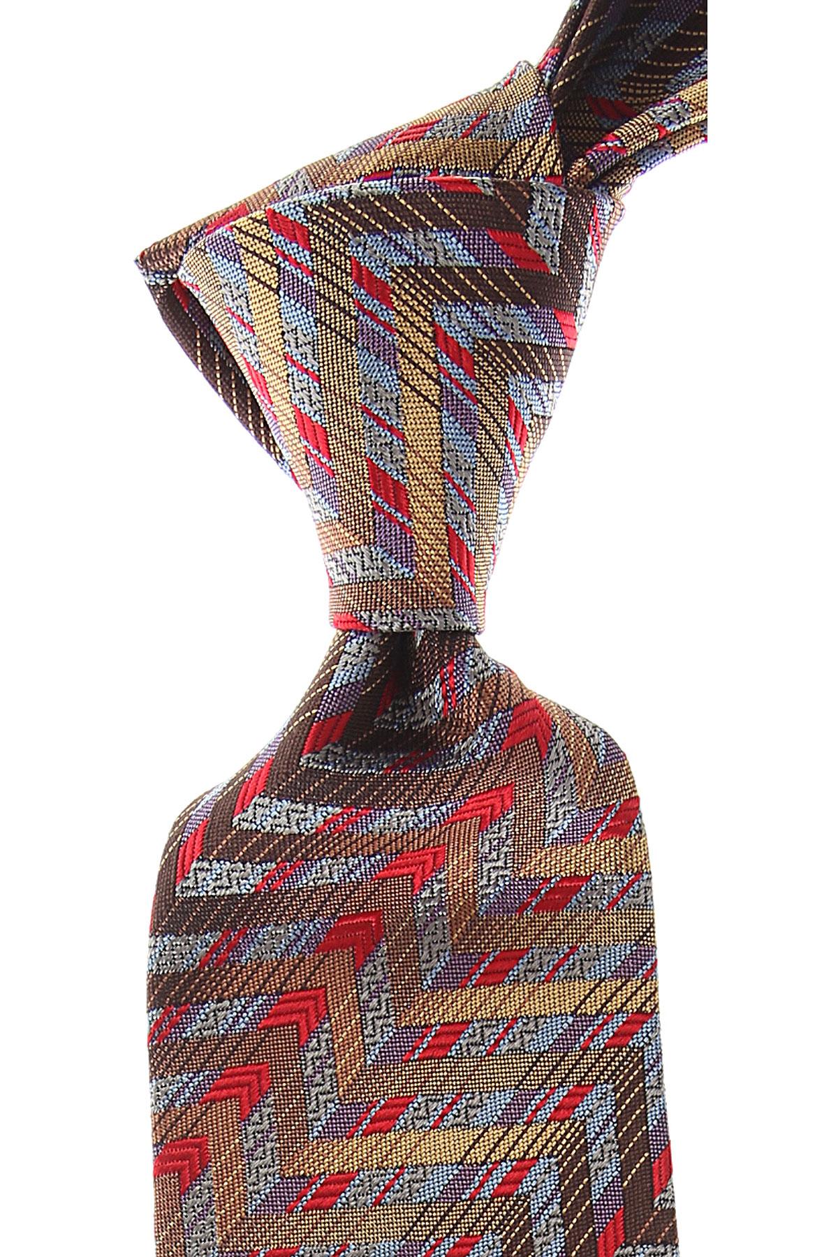 Missoni Ties On Sale, Antique Bronze, Silk, 2019
