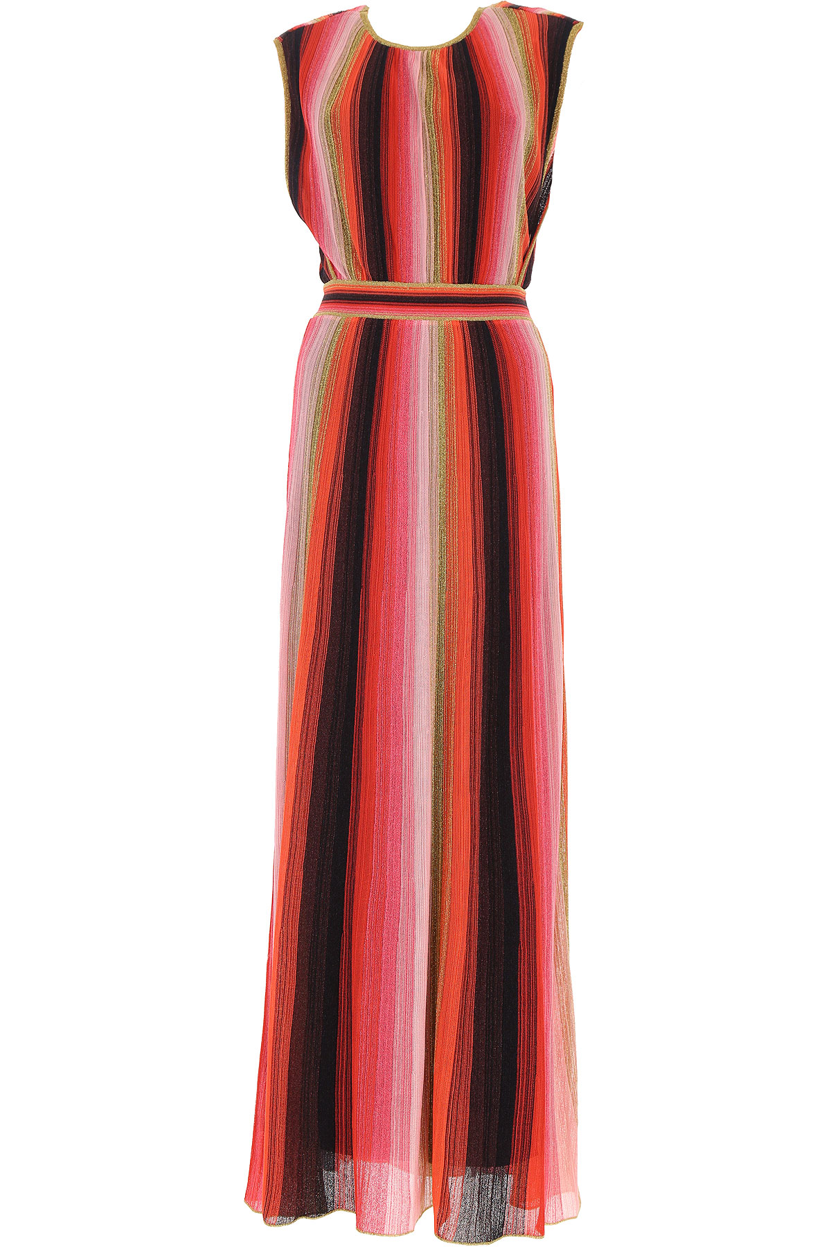 Missoni Dress for Women, Evening Cocktail Party On Sale, Red, Viscose, 2019, 2 4