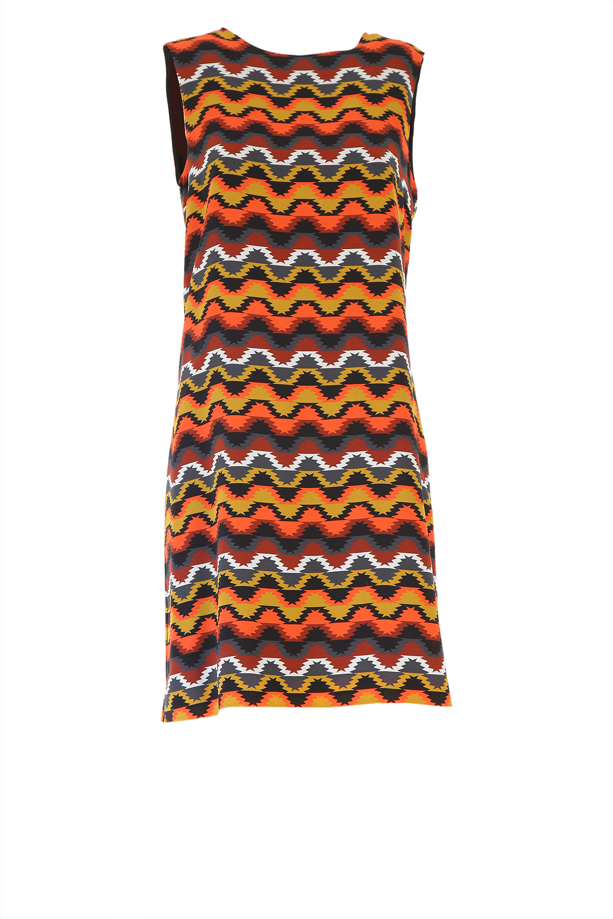 Missoni Dress for Women, Evening Cocktail Party On Sale, Multicolor, Silk, 2019, 10 8