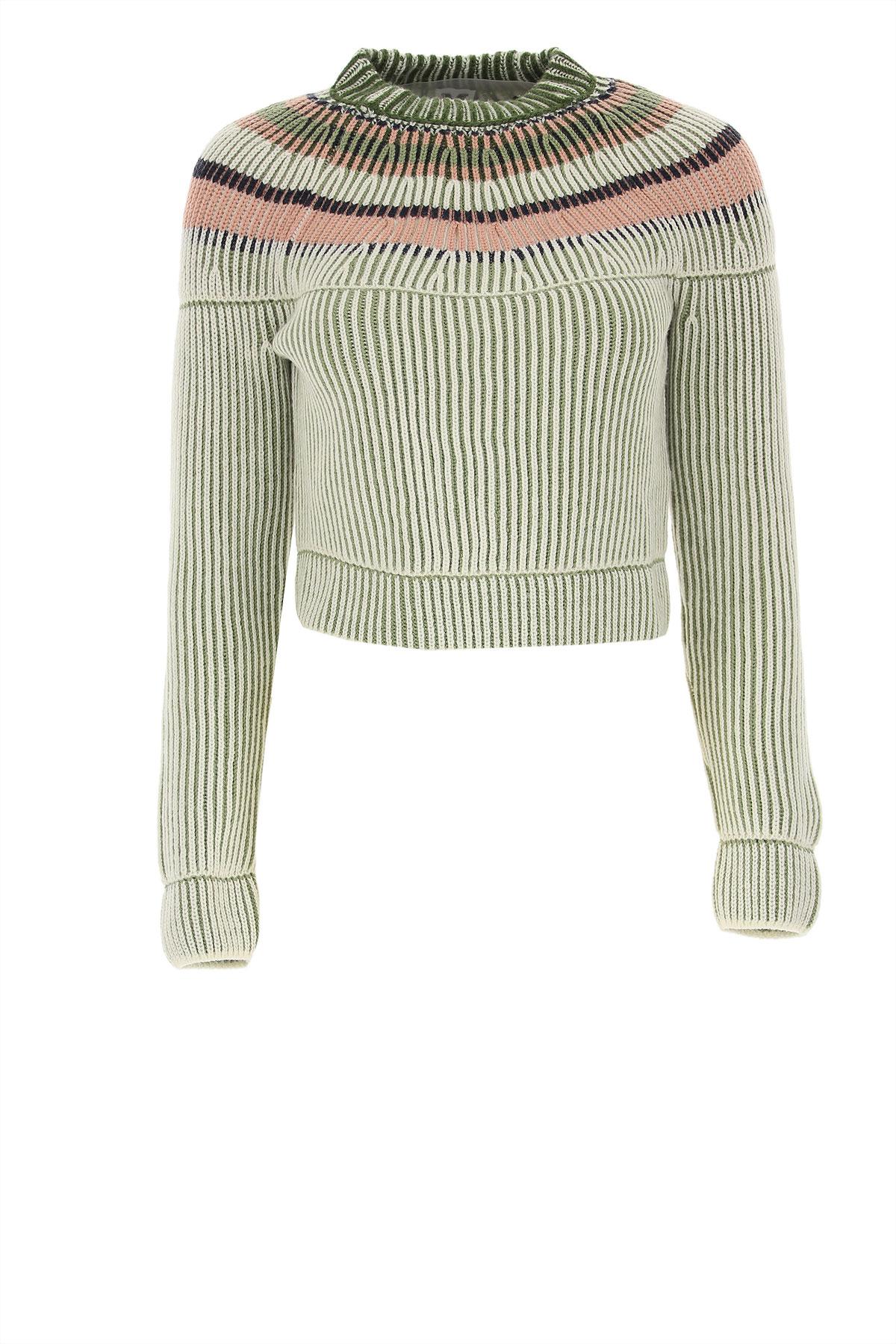 Missoni Sweater for Women Jumper On Sale, Green, fleece wool, 2019, 4 6