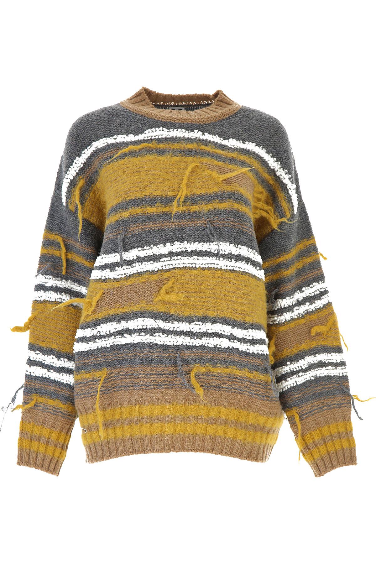 Missoni Sweater for Women Jumper On Sale, Medium Grey, Wool, 2019, 2 4