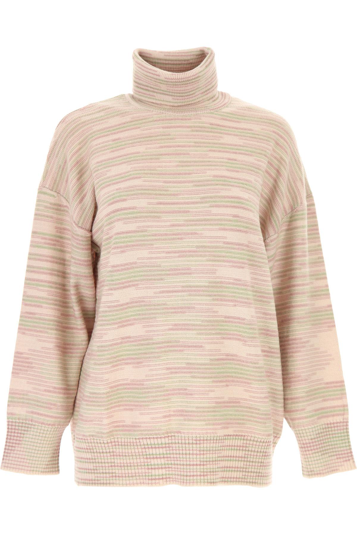 Missoni Sweater for Women Jumper On Sale, Pink, fleece wool, 2019, 2 4 6