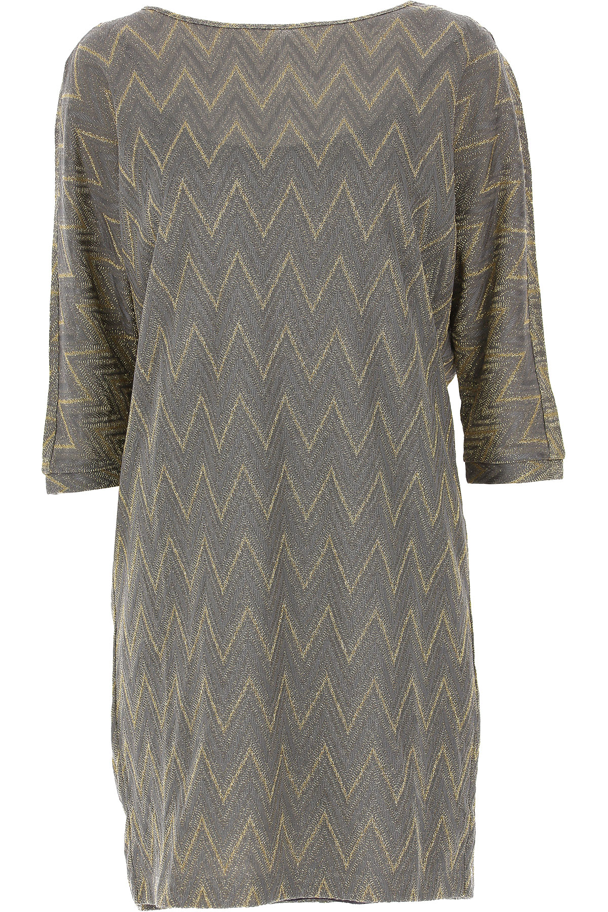 Image of Missoni Dress for Women, Evening Cocktail Party, Grey, viscosa, 2017, 6 8