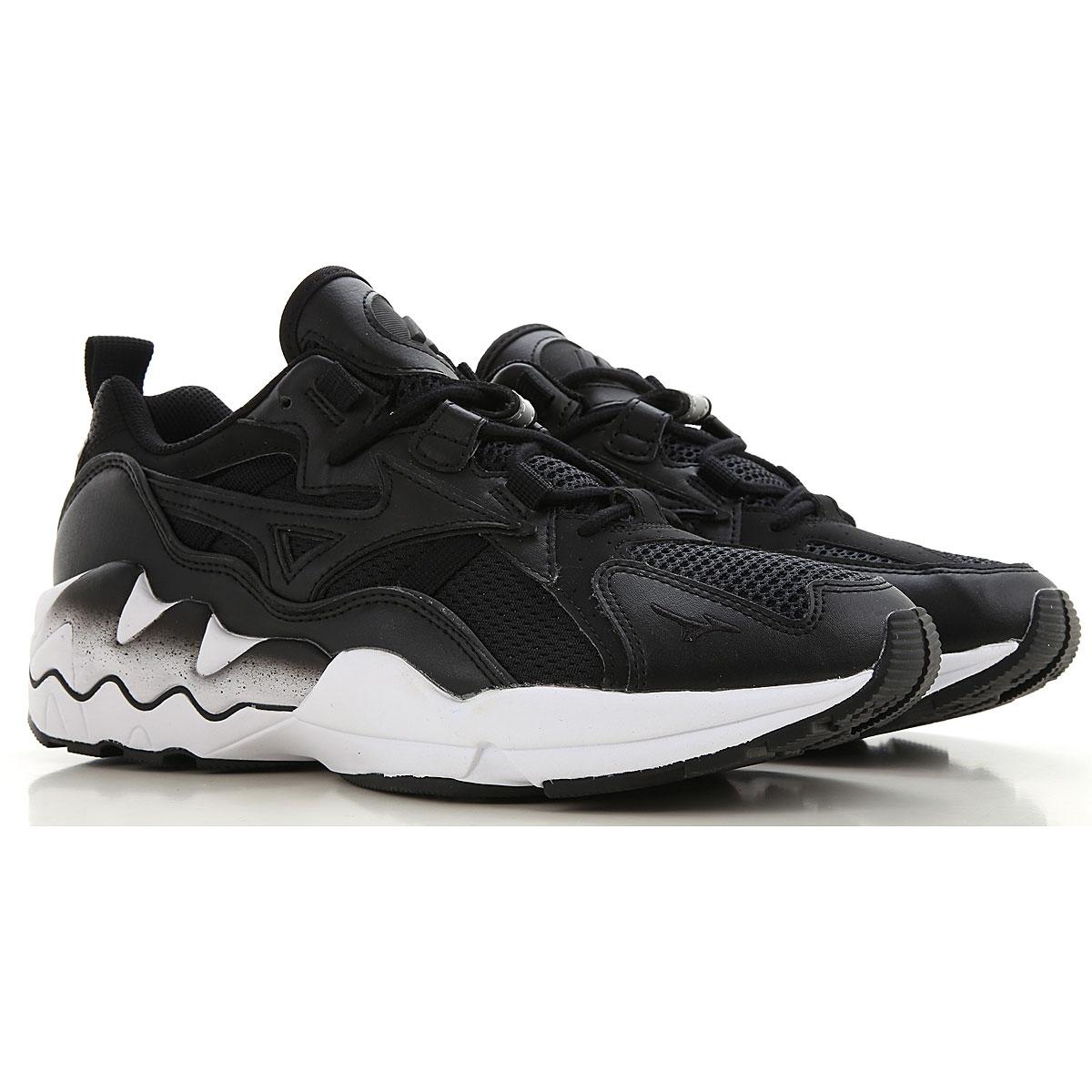 Mizuno Sneakers for Men, Black, Leather, 2019, 9