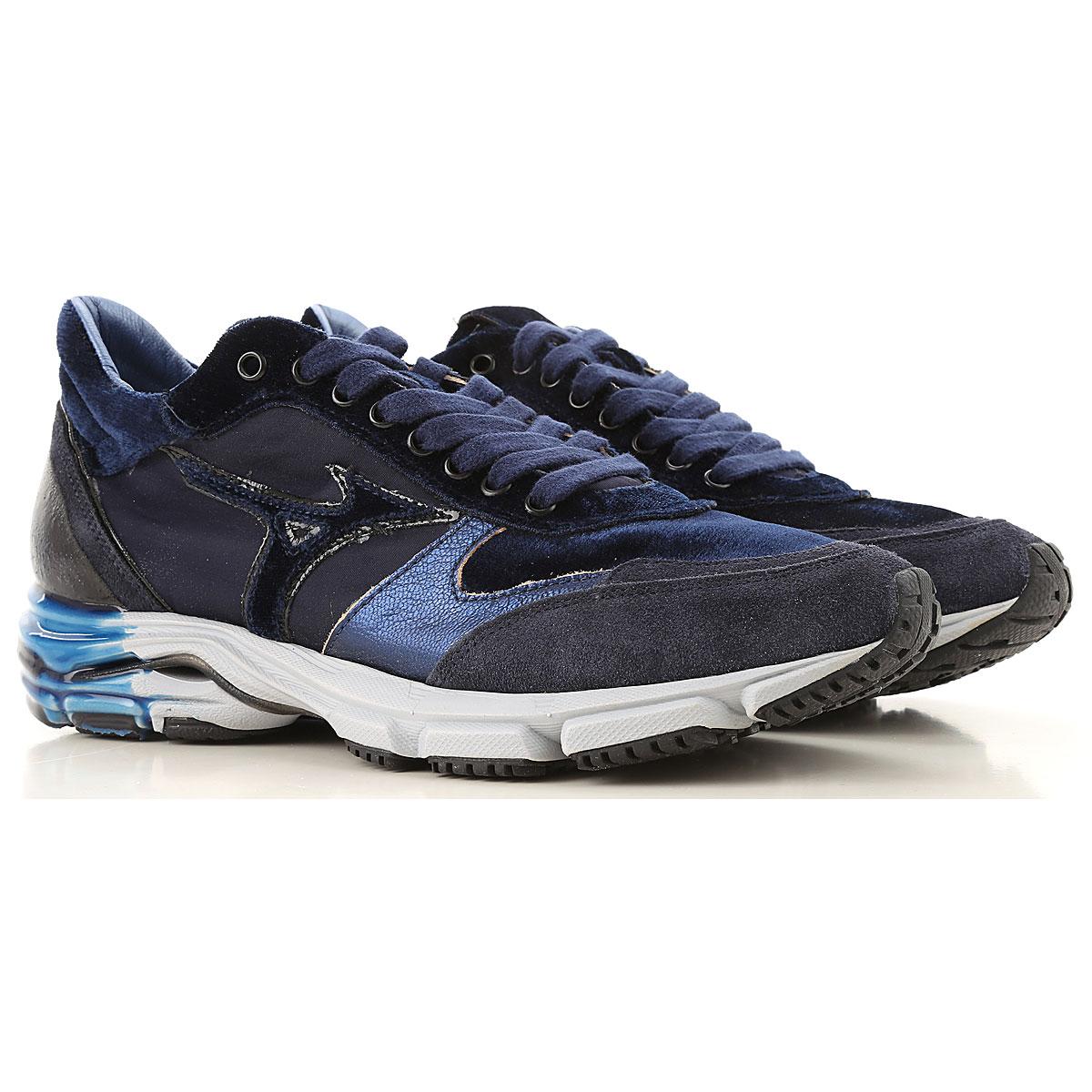Mizuno Sneakers for Men On Sale in Outlet, Dark Blue, Suede leather, 2019, US 7 5 - UK 6 5 - EU 40 - JP 25.5 US 8 5 - UK 7.5 - EU 41 - JP 26 5