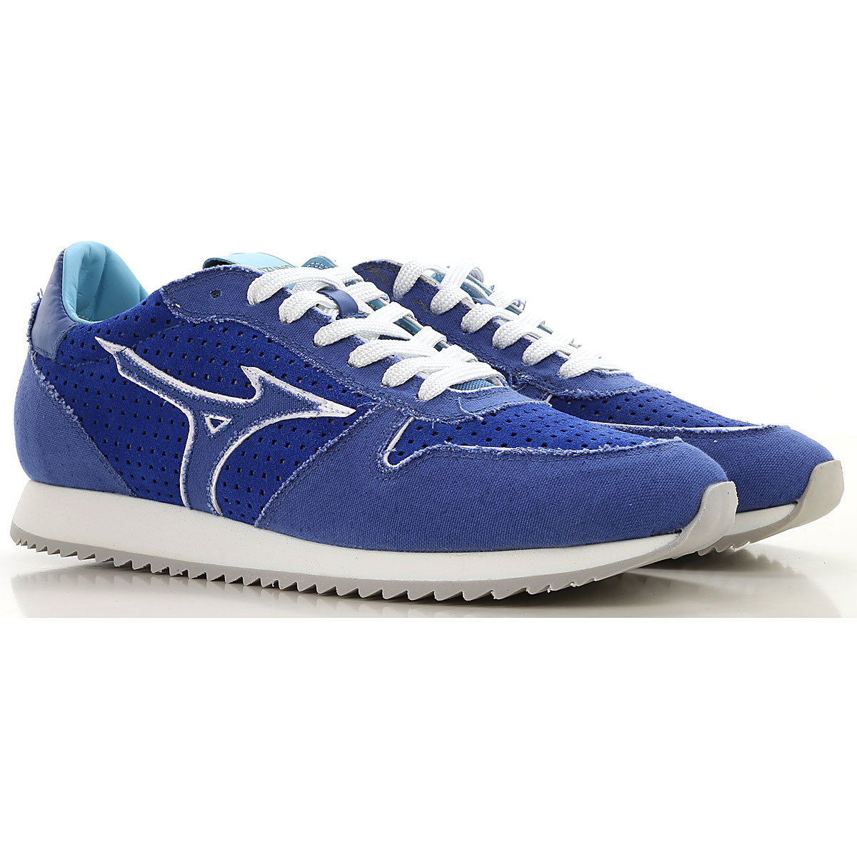 Mizuno Sneakers for Men On Sale in Outlet, Blue, Leather, 2019, US 7 5 - UK 6 5 - EU 40 - JP 25.5 US 8 5 - UK 7.5 - EU 41 - JP 26 5 US 11 5 - UK 10 5