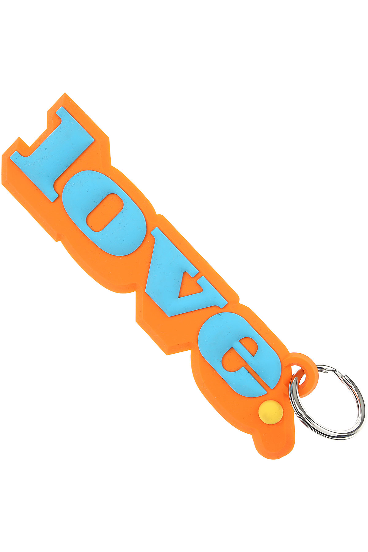 Marc Jacobs Key Chain for Women, Key Ring On Sale in Outlet, Orange, Silicone, 2019