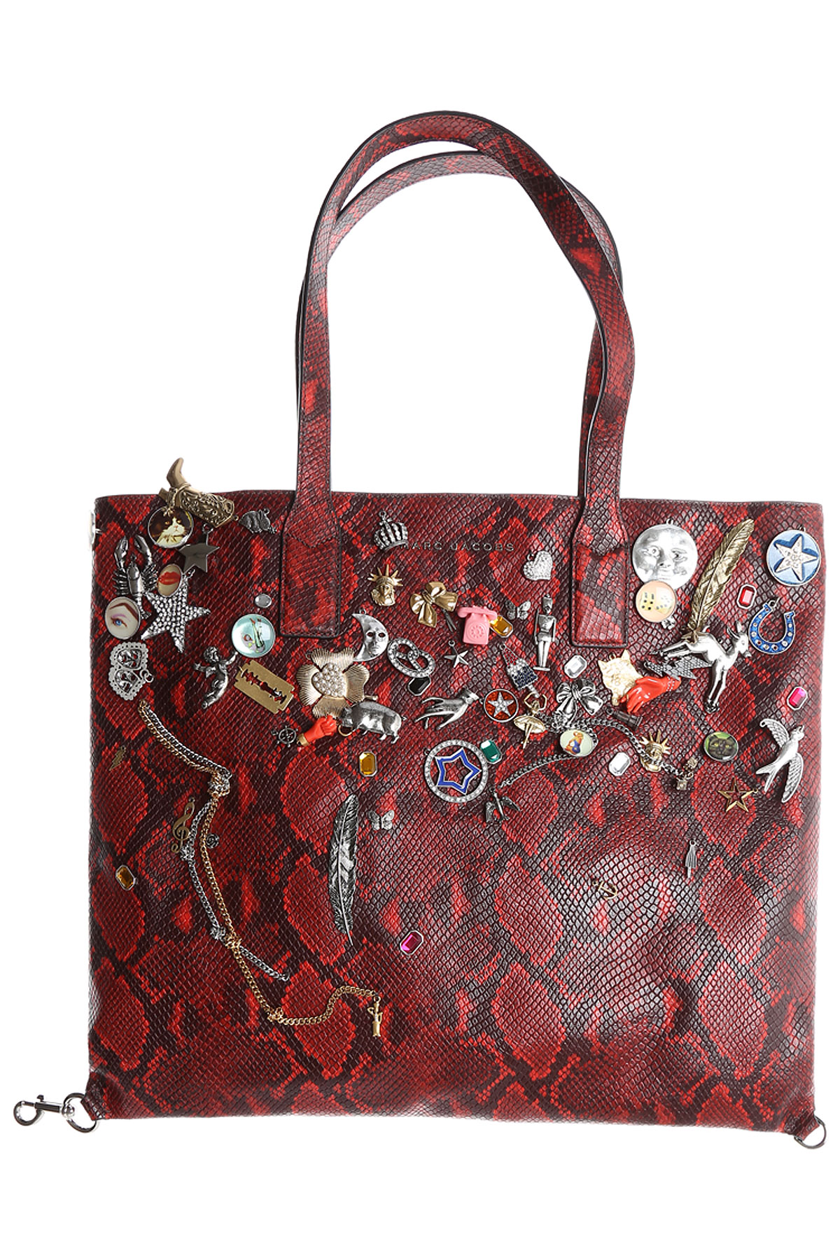 Marc Jacobs Tote Bag On Sale, Bordeaux Red, Leather, 2017 USA-361749