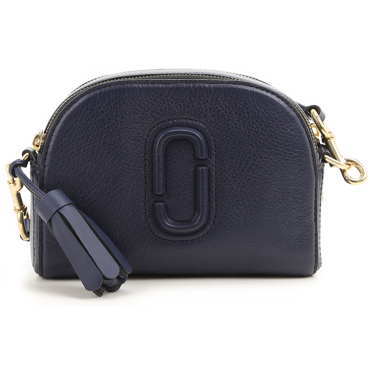 Marc Jacobs Shoulder Bag for Women, Midnight Blue, Leather, 2017 USA-383866
