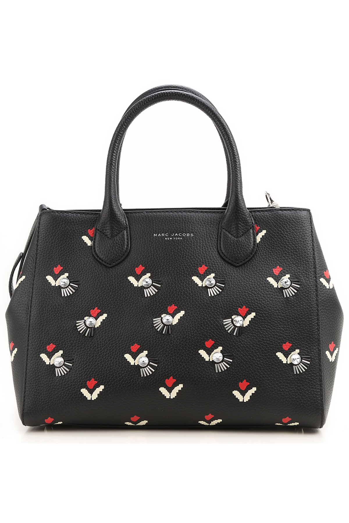Marc Jacobs Tote Bag, Black, Leather, 2017