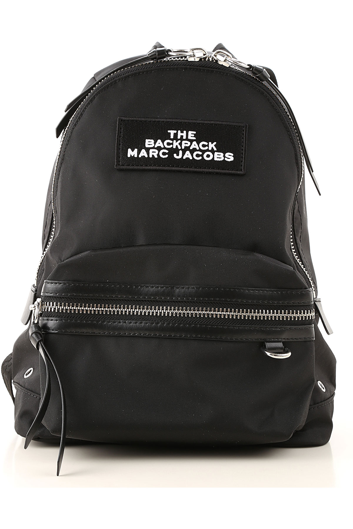 Marc Jacobs Backpack for Women On Sale, Black, Nylon, 2019