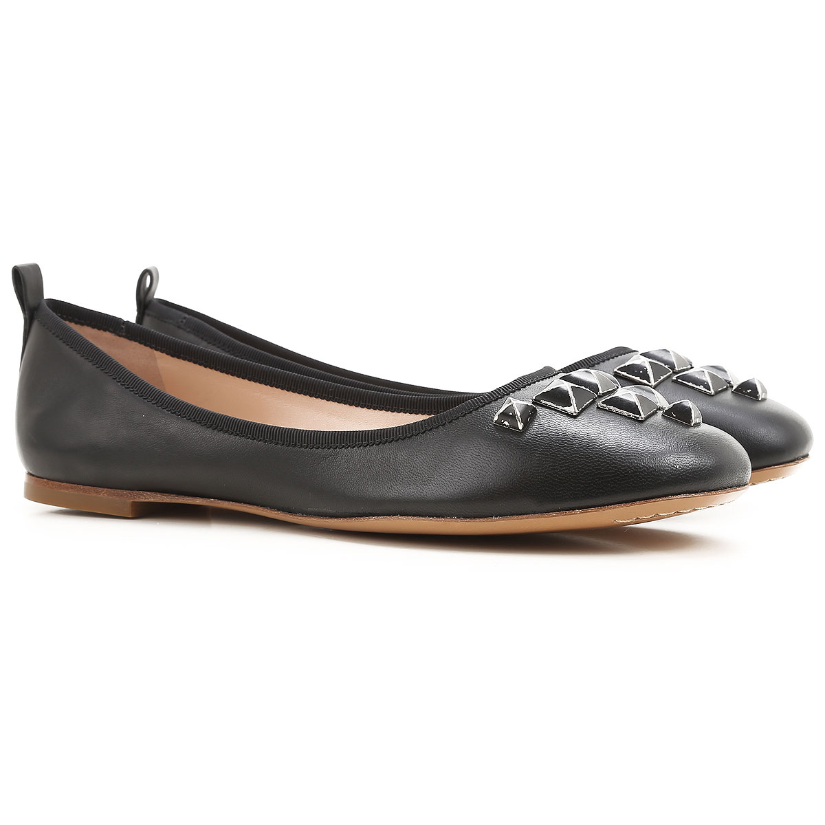 Marc Jacobs Ballet Flats Ballerina Shoes for Women On Sale in Outlet, Black, Leather, 2019, 11 9