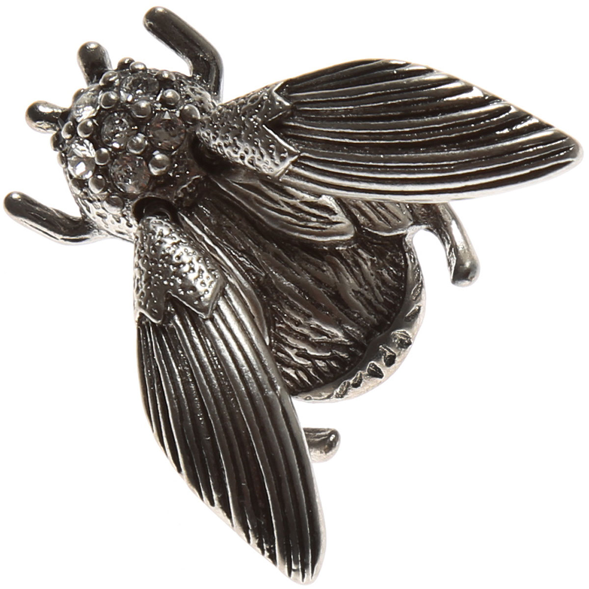 Image of Marc Jacobs Brooch and Pin for Women, Antique Silver, Brass, 2017