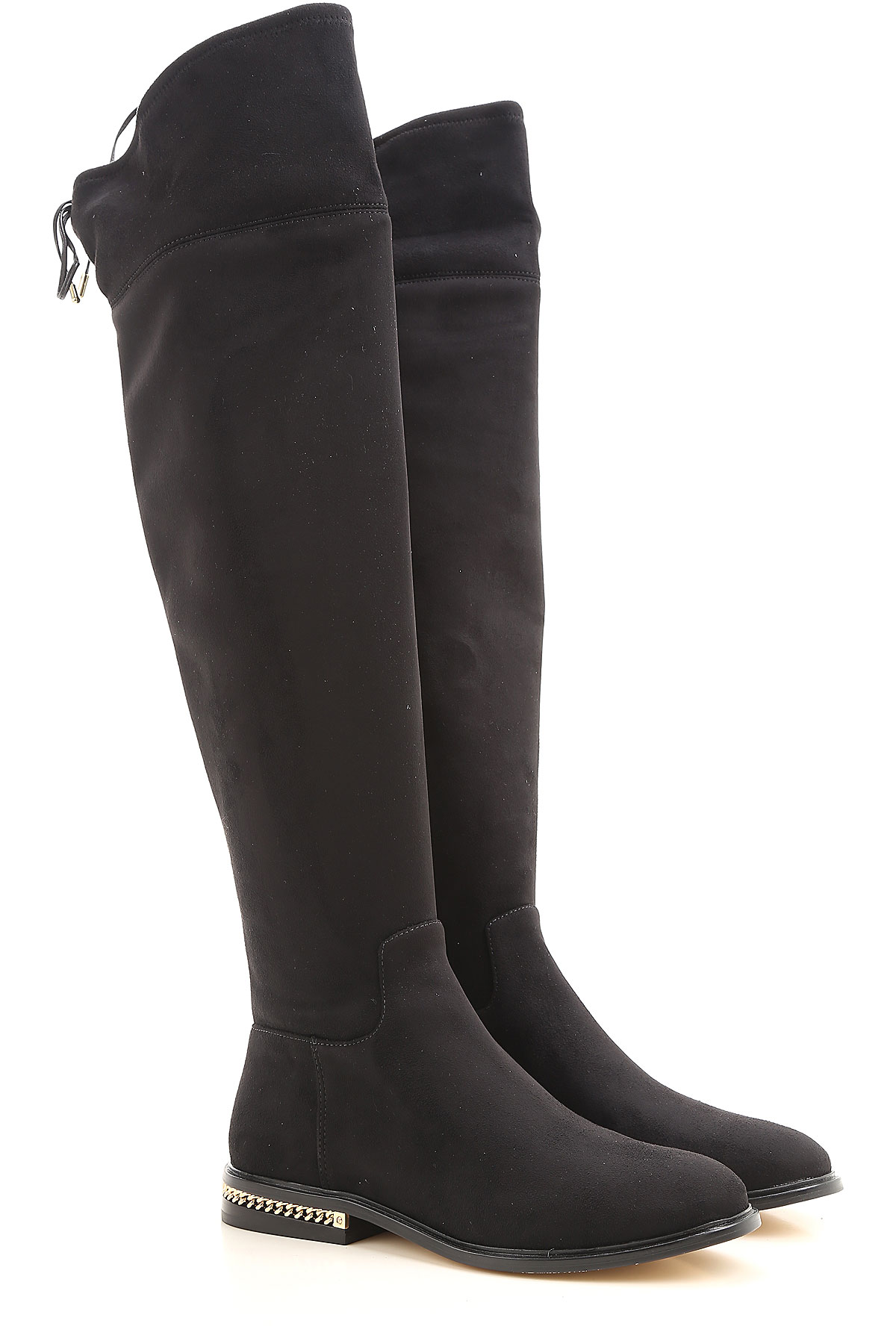 Michael Kors Boots for Women, Booties On Sale, Black, Suede leather, 2017, 3.5 4.5