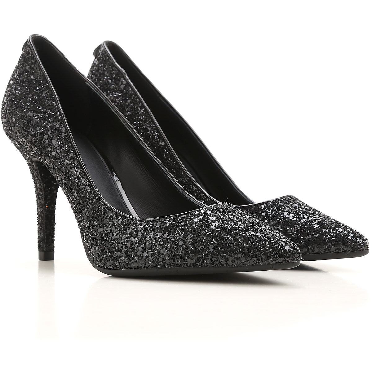 Michael Kors Pumps & High Heels for Women On Sale in Outlet, Black, Leather, 2019, 6.5