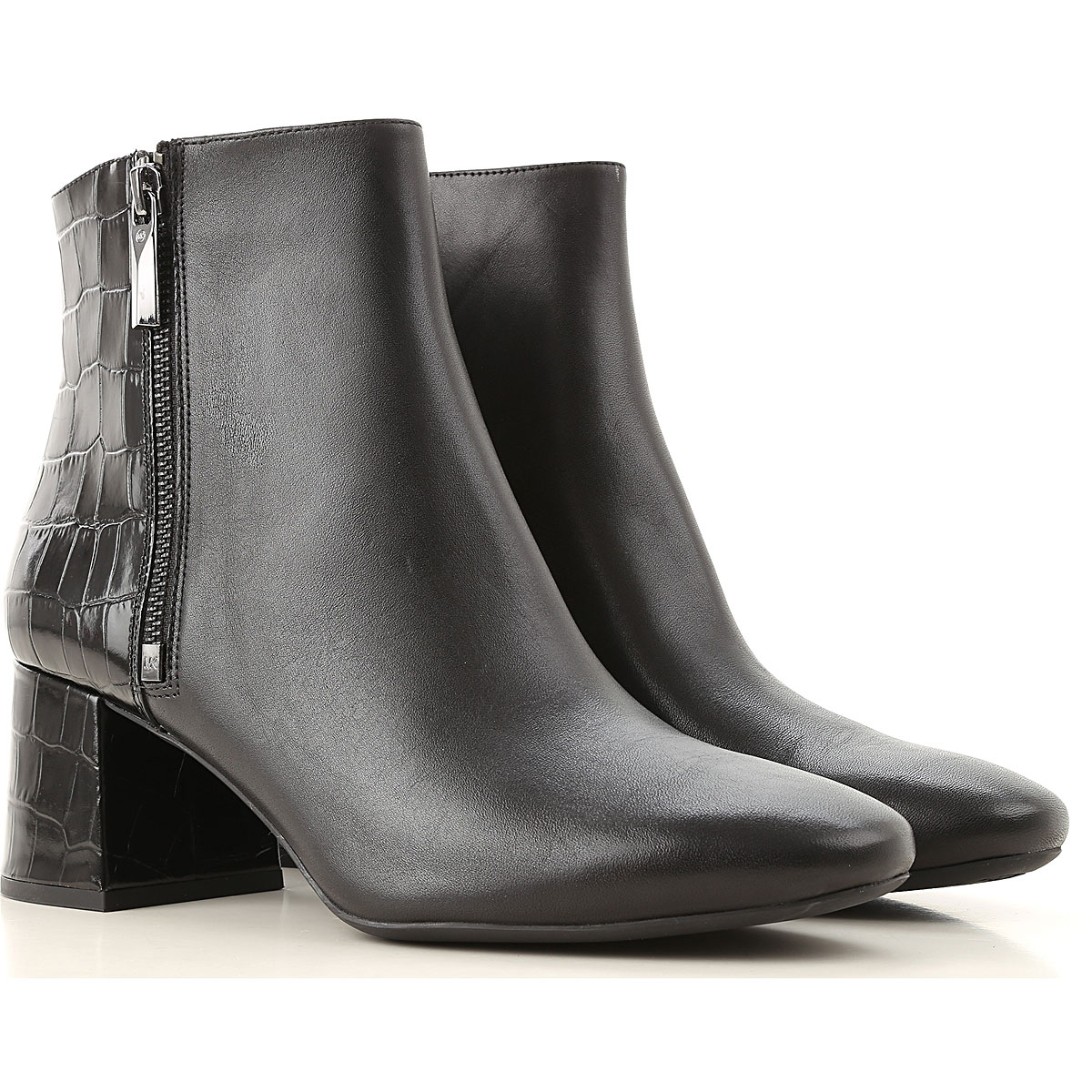 Michael Kors Boots for Women, Booties On Sale, Black, Leather, 2019, 10 5 6 6.5 7 8 9 9.5