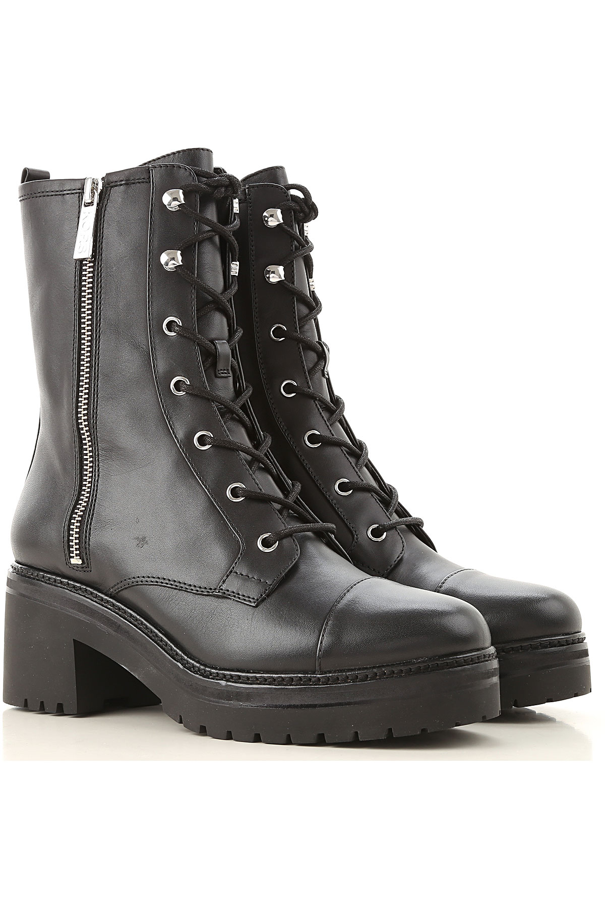 Michael Kors Boots for Women, Booties On Sale, Black, Leather, 2019, 10 6 7 8 9