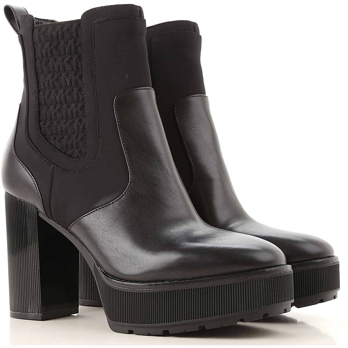 Michael Kors Boots for Women, Booties On Sale, Black, Leather, 2019, 6 8 9 9.5