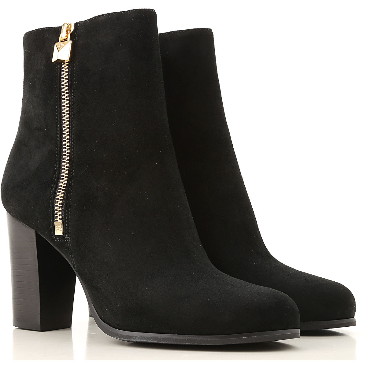 Michael Kors Boots for Women, Booties On Sale, Black, Leather, 2019, 10 5 6 7 8 8.5 9 9.5
