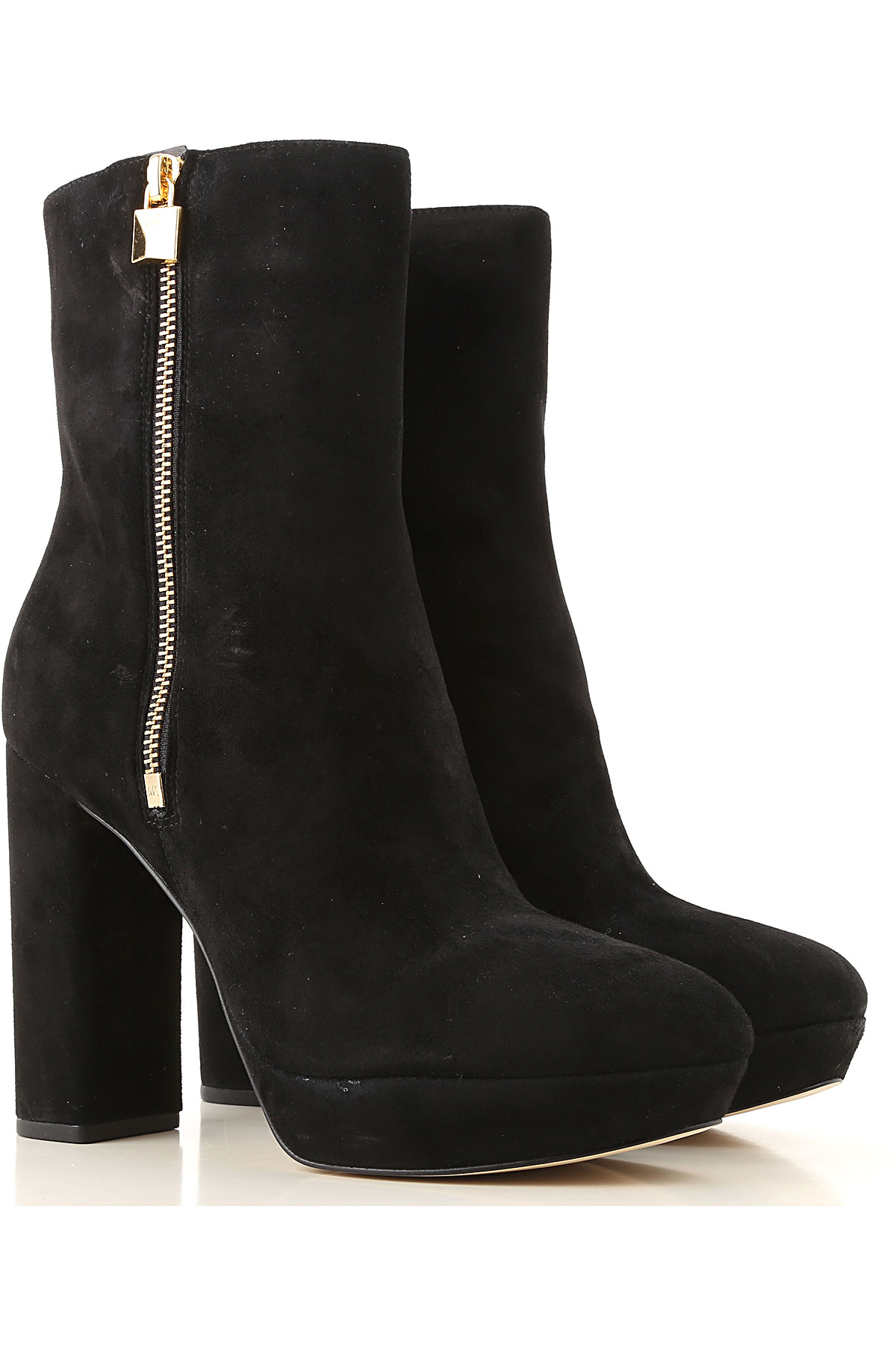 Michael Kors Boots for Women, Booties On Sale, Black, Suede leather, 2019, 10 6 7 8 8.5 9