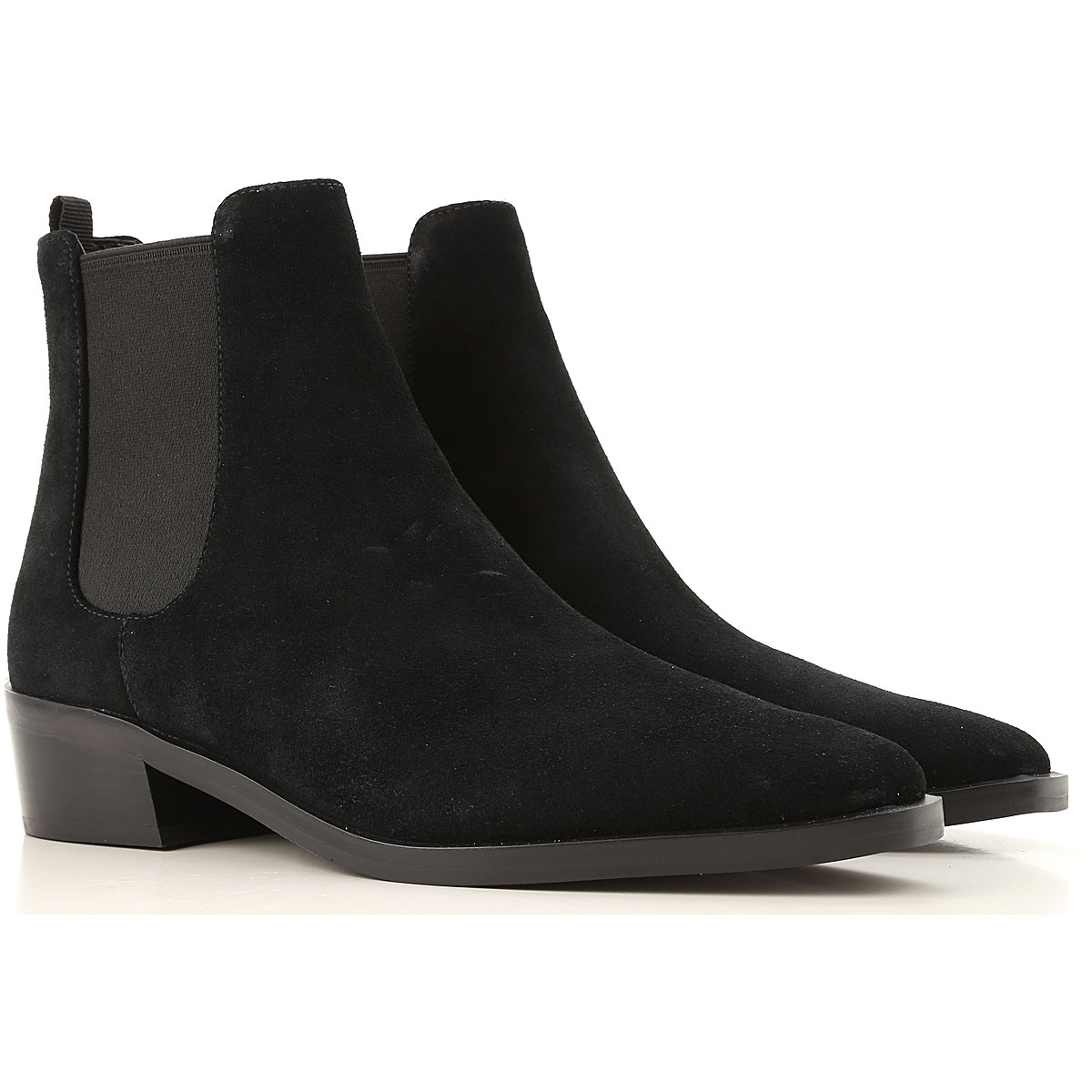 Michael Kors Boots for Women, Booties On Sale, Black, Suede leather, 2019, 6 6.5 7 8 8.5 9 9.5