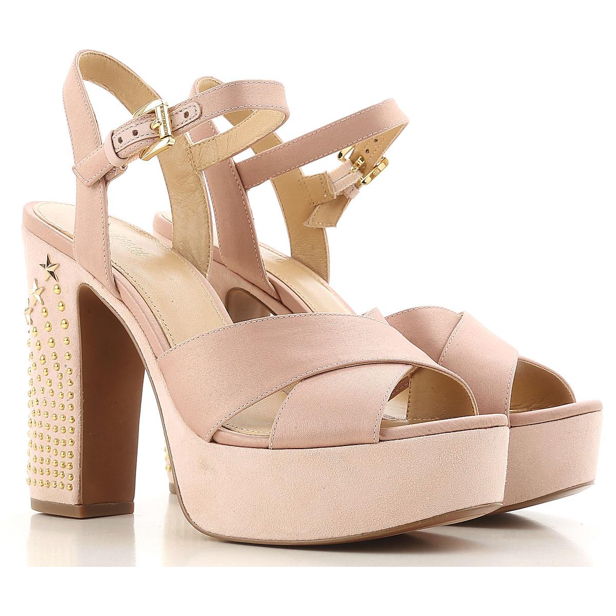 Michael Kors Womens Shoes On Sale, Nude, satin, 2017, 3 3.5 4 4.5 5.5 6