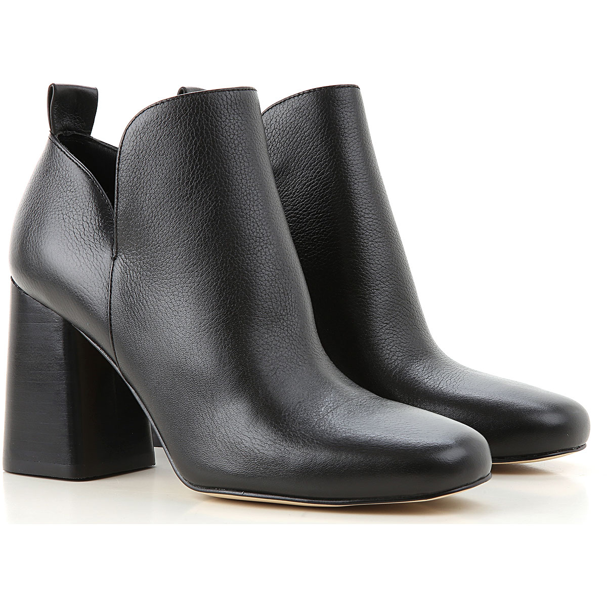 Michael Kors Boots for Women, Booties On Sale, Black, Leather, 2019, 6 7 8 8.5 9 9.5