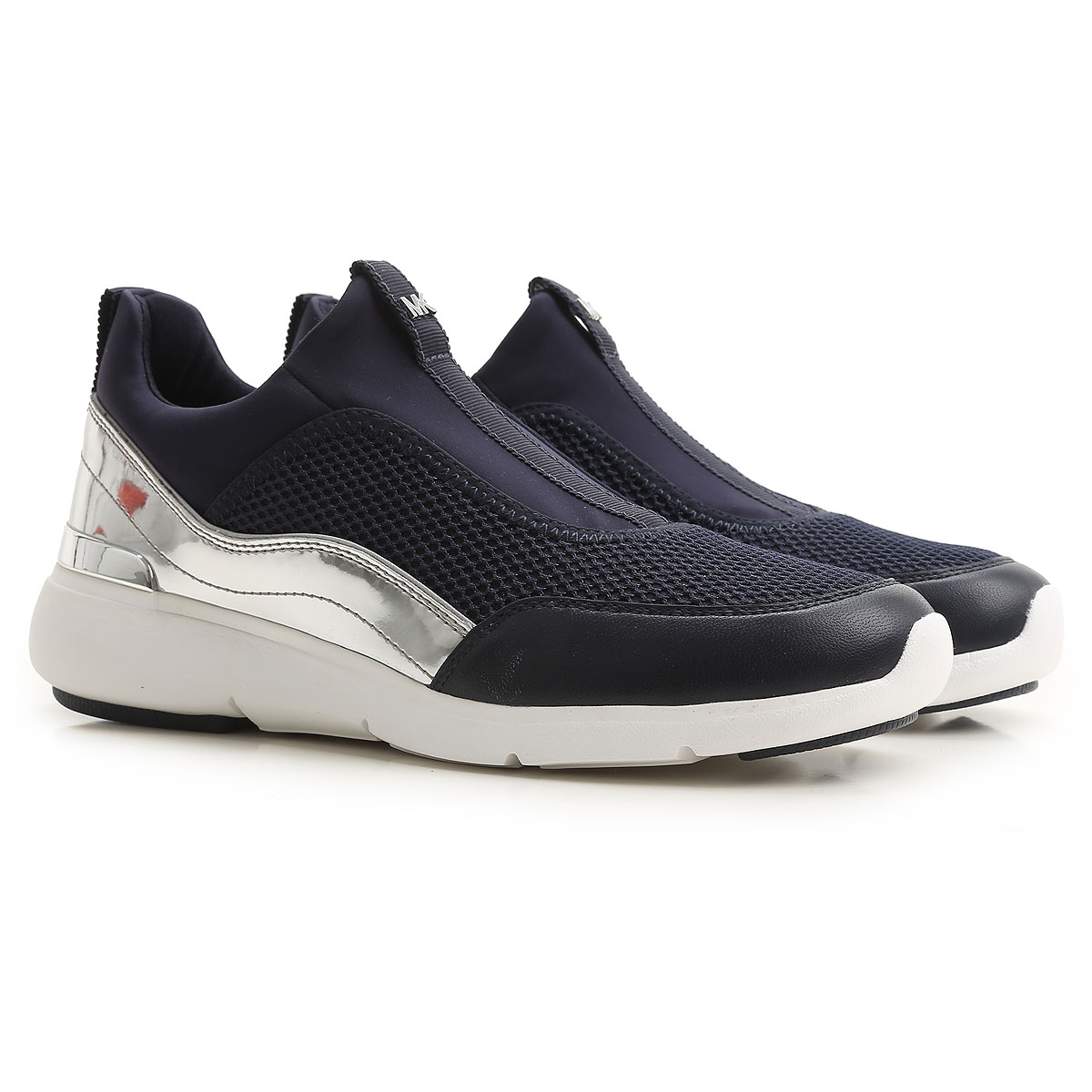 Michael Kors Sneakers for Women On Sale, Admiral Blue, Neoprene, 2017, 4.5