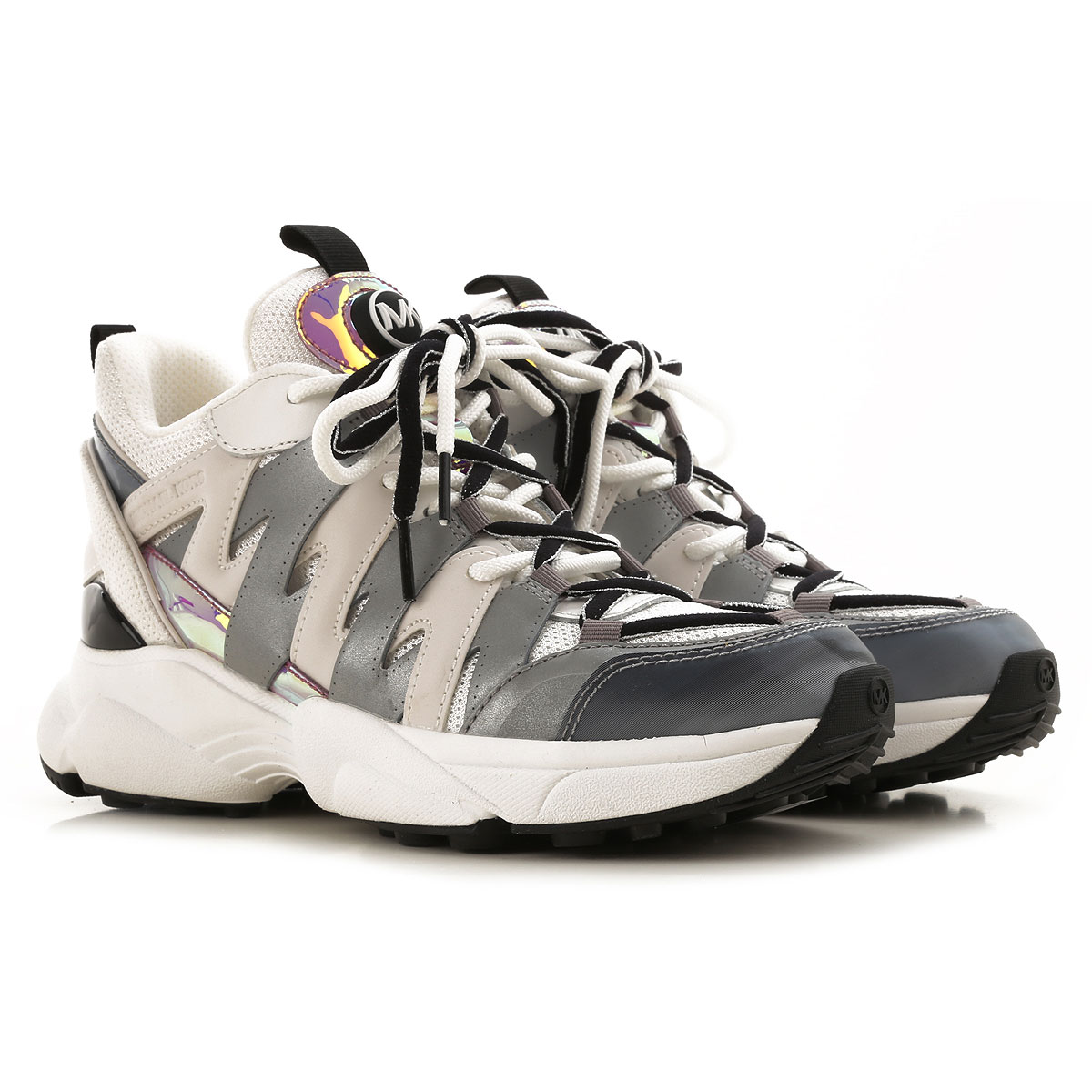 michael kors sneakers for women on sale, white, fabric, 2019, 3.5 4.5