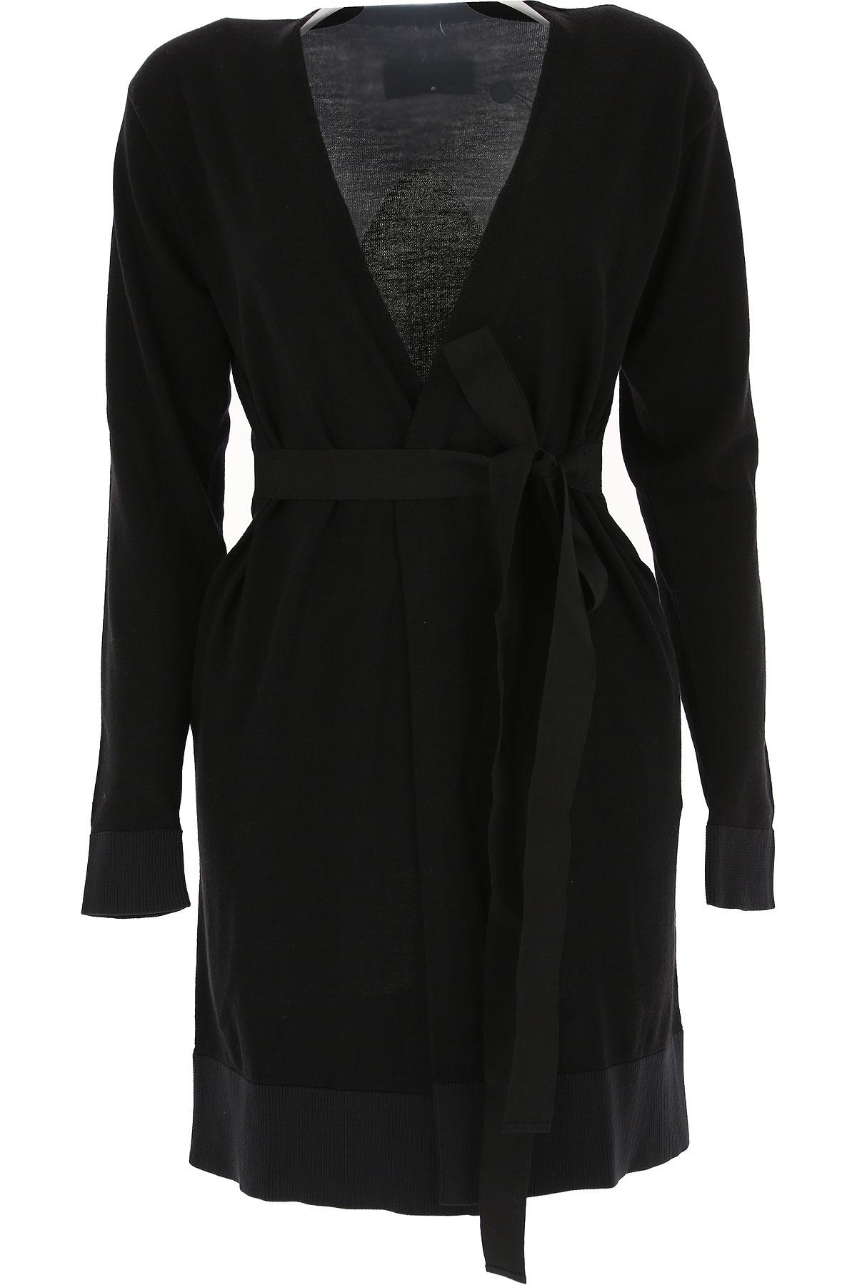 Maison Martin Margiela Sweater for Women Jumper, Black, polyestere, 2017, 10 4 6 8 USA-467896