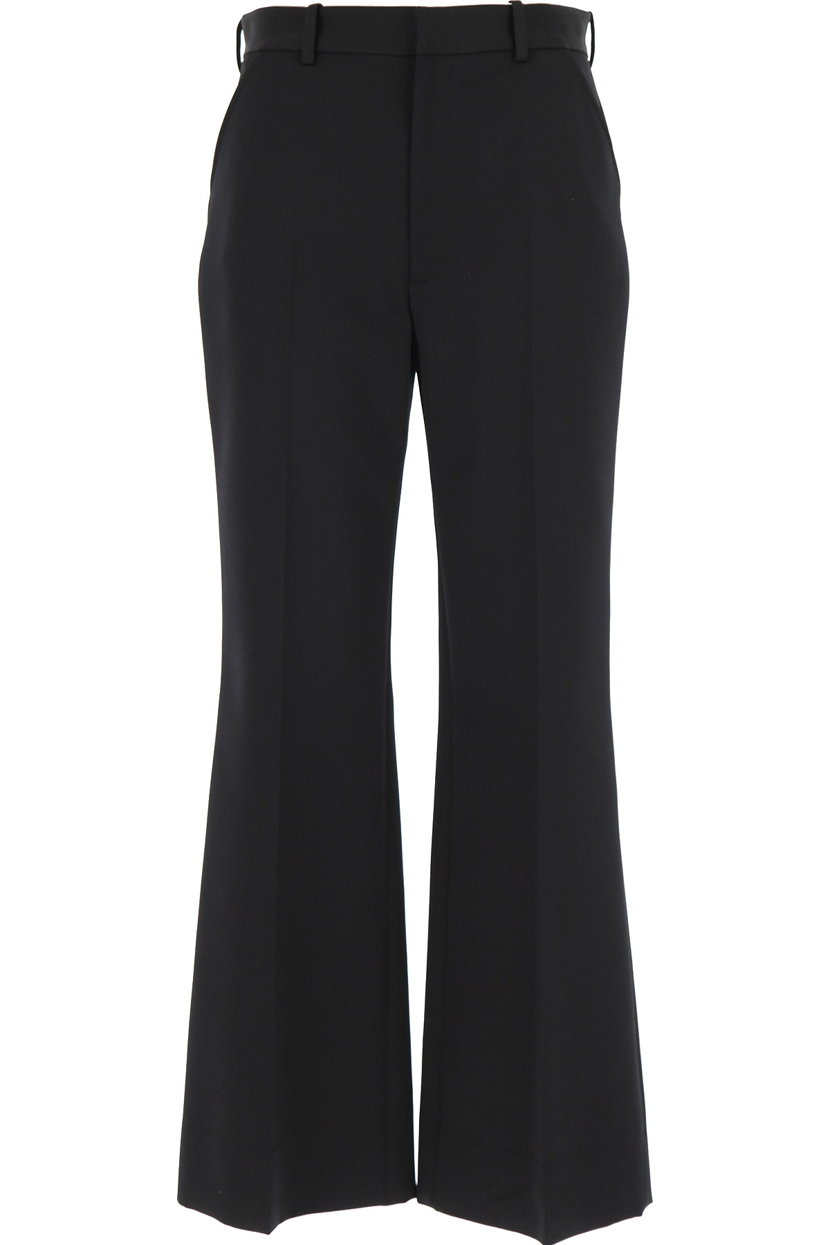 Maison Martin Margiela Pants for Women On Sale, Black, polyester, 2019, 26 4 8