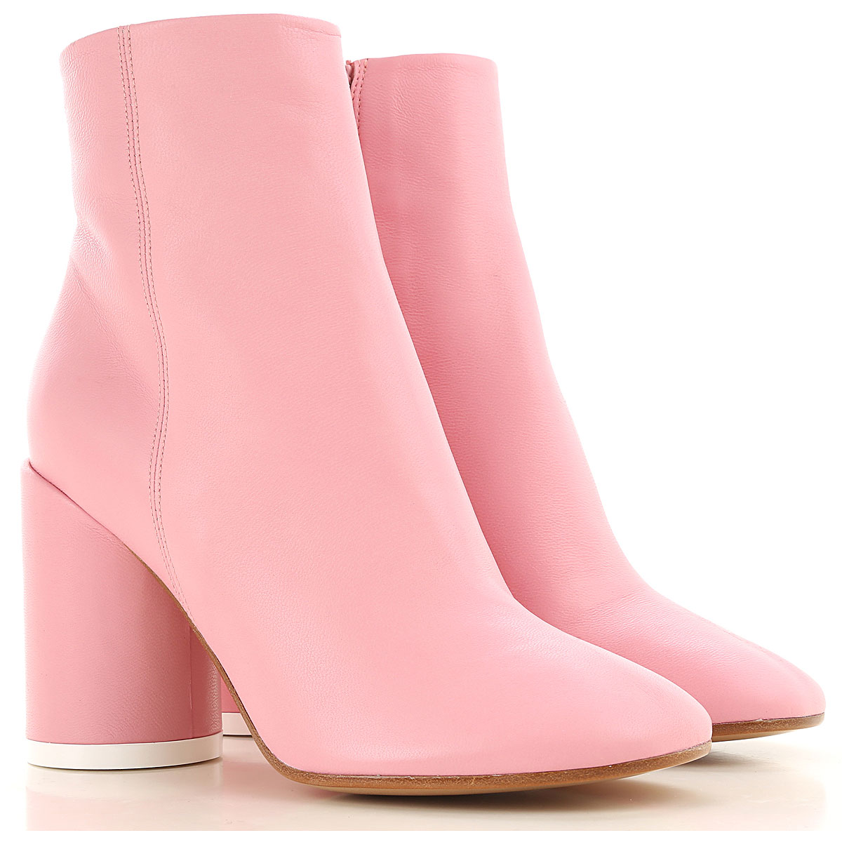 Maison Martin Margiela Boots for Women, Booties On Sale, Baby Rose, Leather, 2019, 10 11 6 6.5 7 8 8.5 9