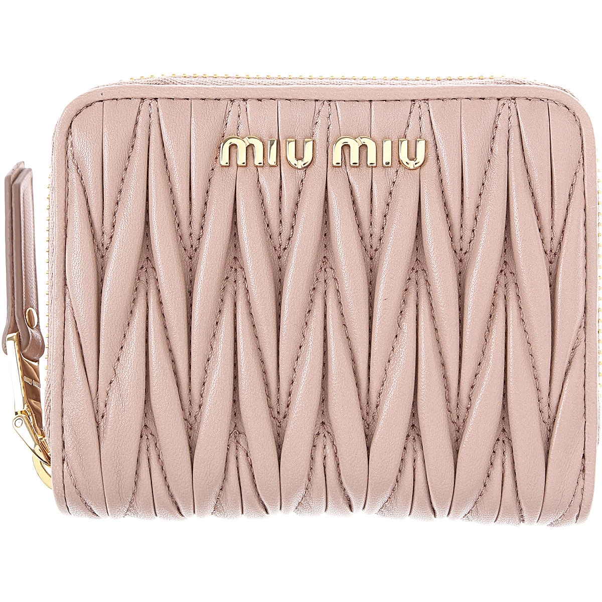 Miu Miu Wallet for Women On Sale, Cammeo, Leather, 2019