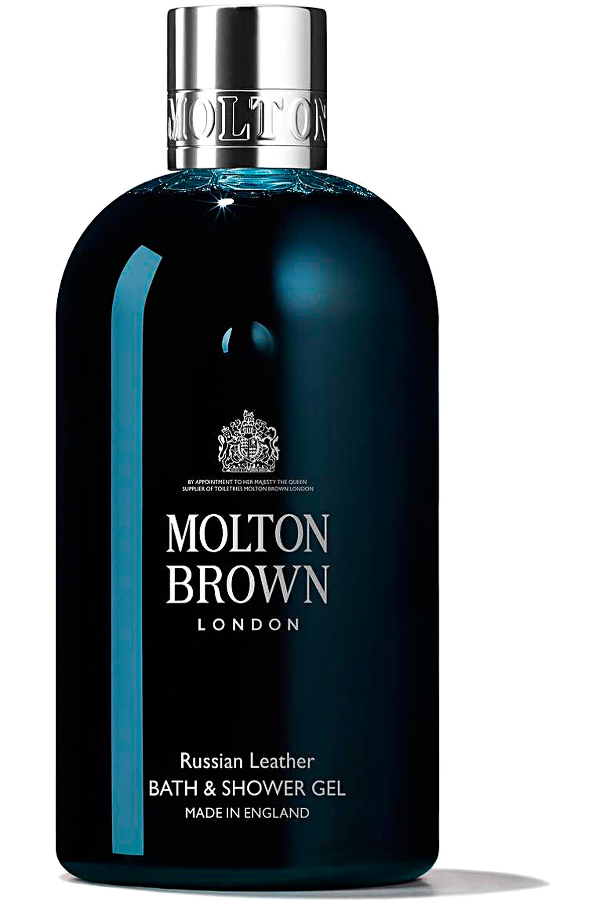 Molton Brown Beauty for Men, Russian Leather - Bath & Shower Gel - 300 Ml, 2019, 300 ml