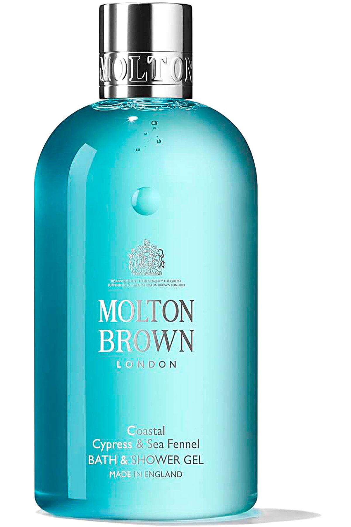 Molton Brown Beauty for Men, Coastal Cypress & Sea Fennel - Bath & Shower Gel - 300 Ml, 2019, 300 ml