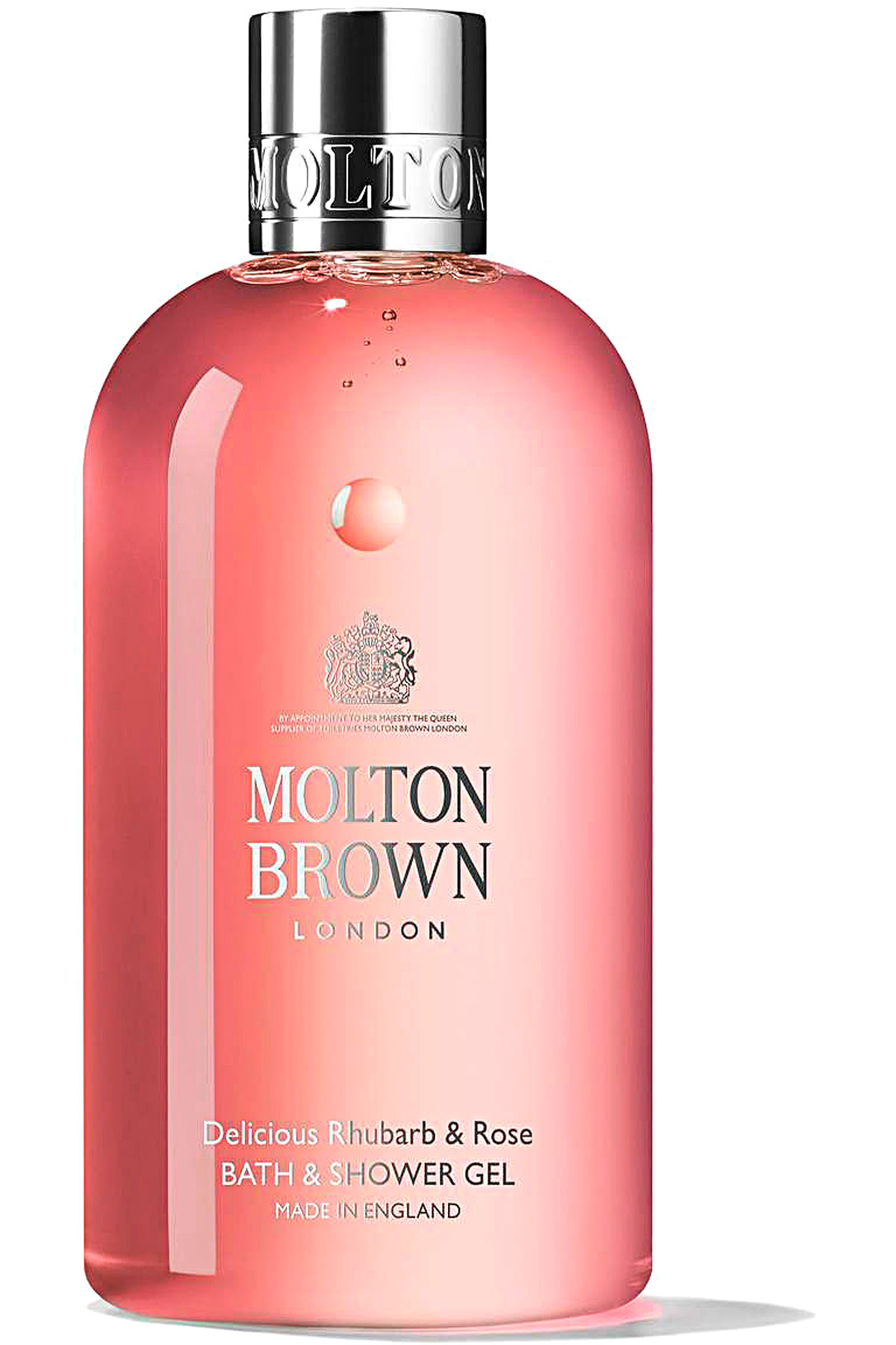 Molton Brown Beauty for Women, Delicious Rhubarb & Rose - Bath & Shower Gel - 300 Ml, 2019, 300 ml