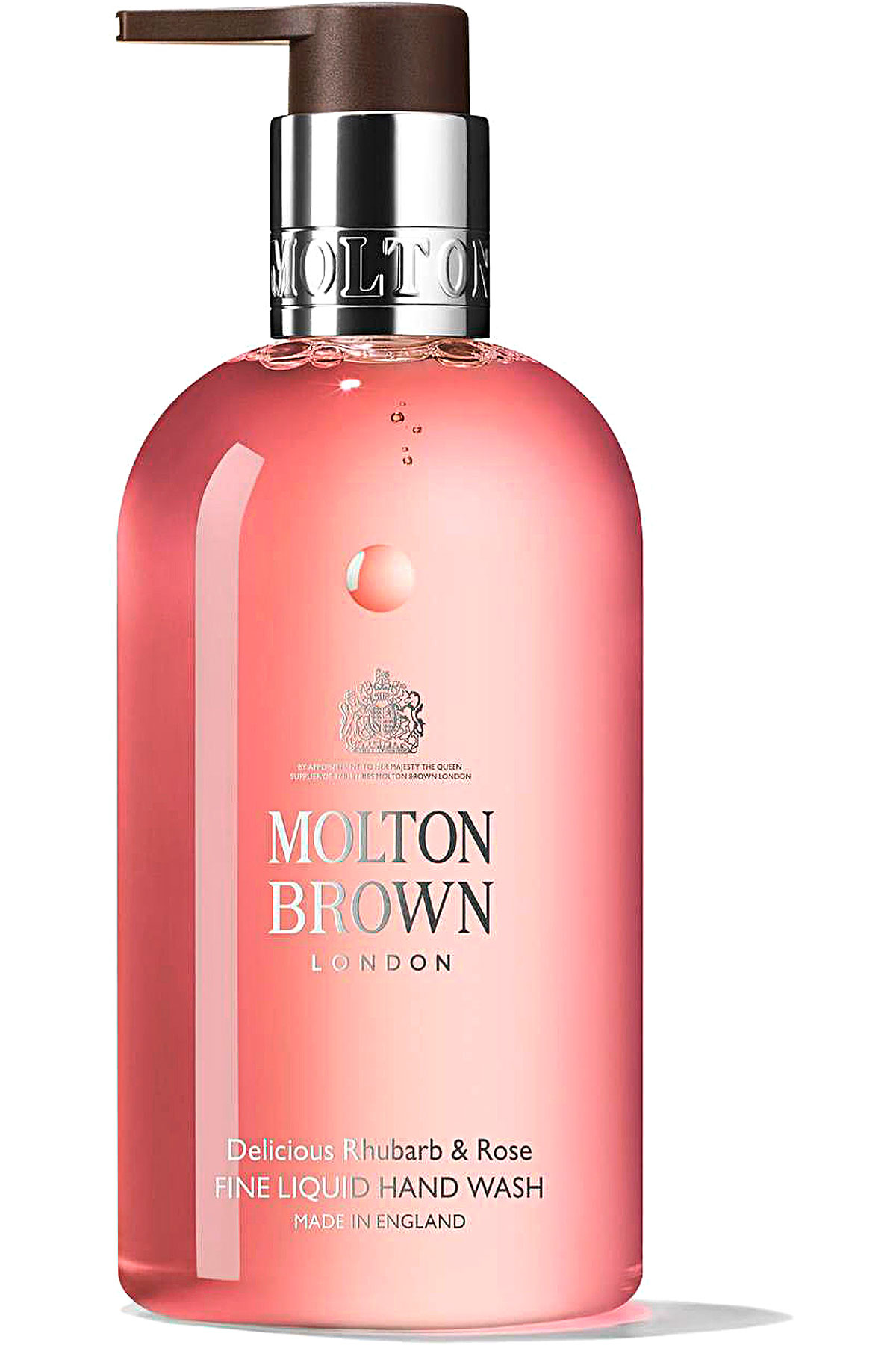 Molton Brown Beauty for Women, Delicious Rhubarb & Rose - Liquid Hand Wash - 300 Ml, 2019, 300 ml