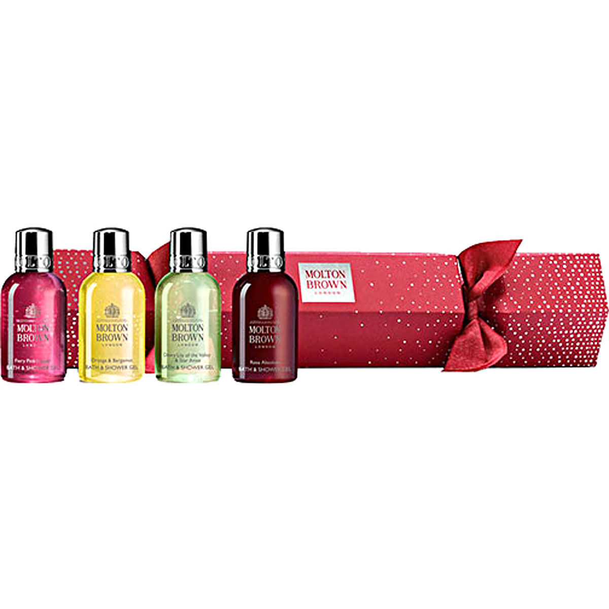 Molton Brown Beauty for Women, Exquisite Treats Cracker - Bath And Shower - 4 X 50 Ml, 2019
