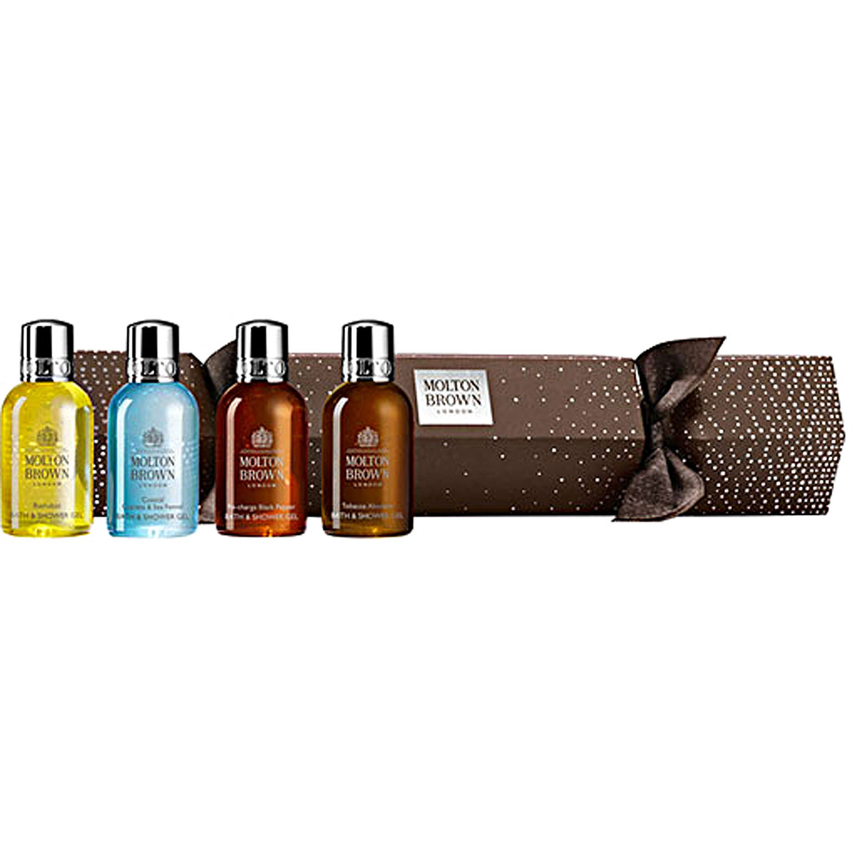 Molton Brown Beauty for Women, Distinguished Treats Cracker - Bath And Shower Gel - 4 X 50 Ml, 2019