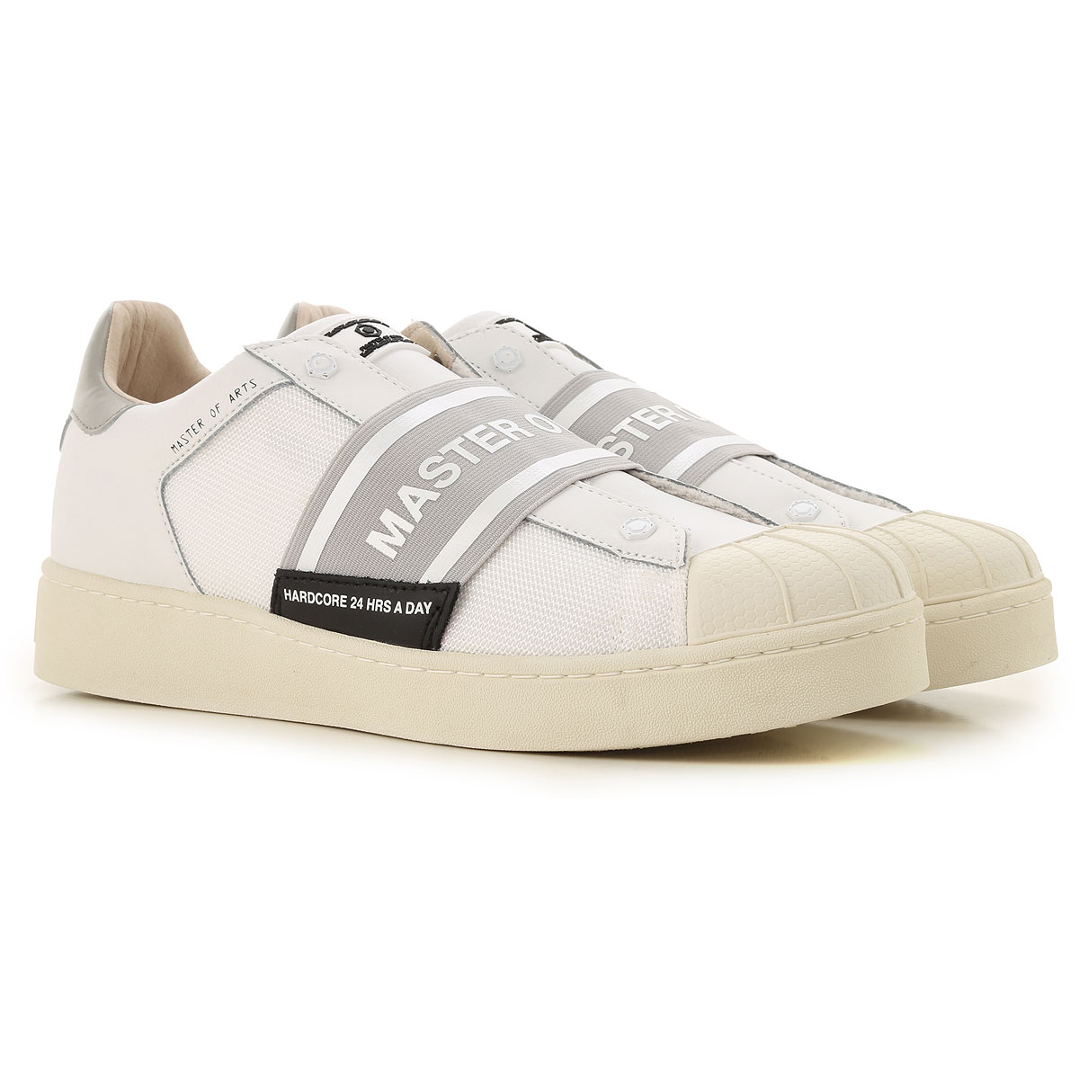 Moa Master of Arts Sneakers for Men On Sale in Outlet, White, Leather, 2019, 10.5 11.5 7.5