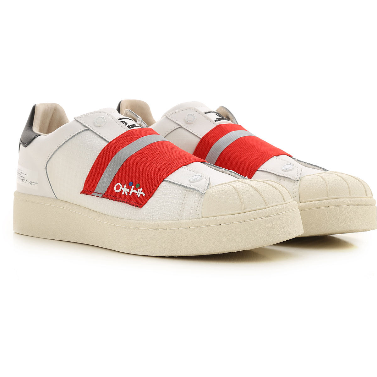 Moa Master of Arts Sneakers for Men On Sale in Outlet, White, Leather, 2019, 7.5 9