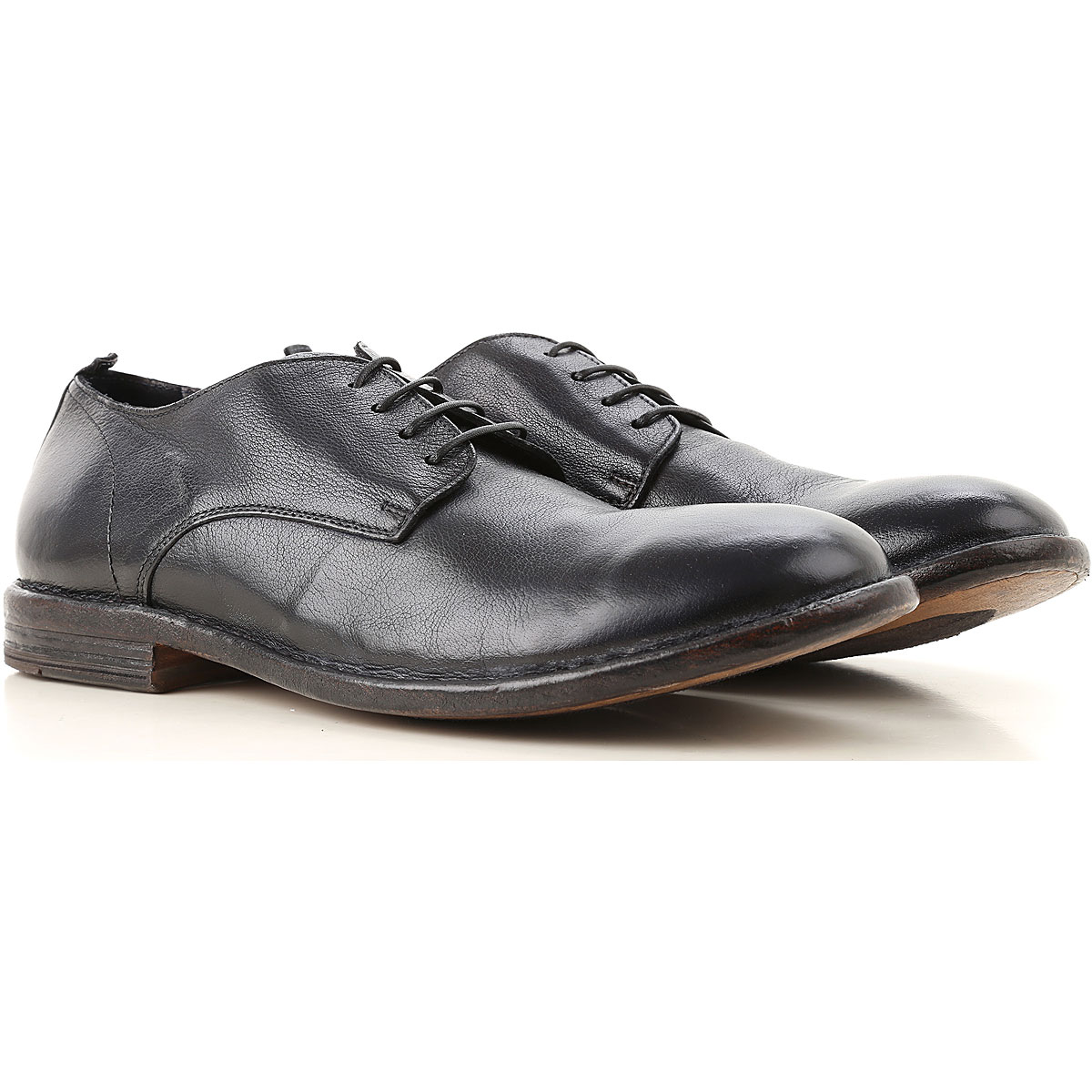 Image of Moma Lace Up Shoes for Men Oxfords, Derbies and Brogues, Black, Leather, 2017, 10 7.5 8 9