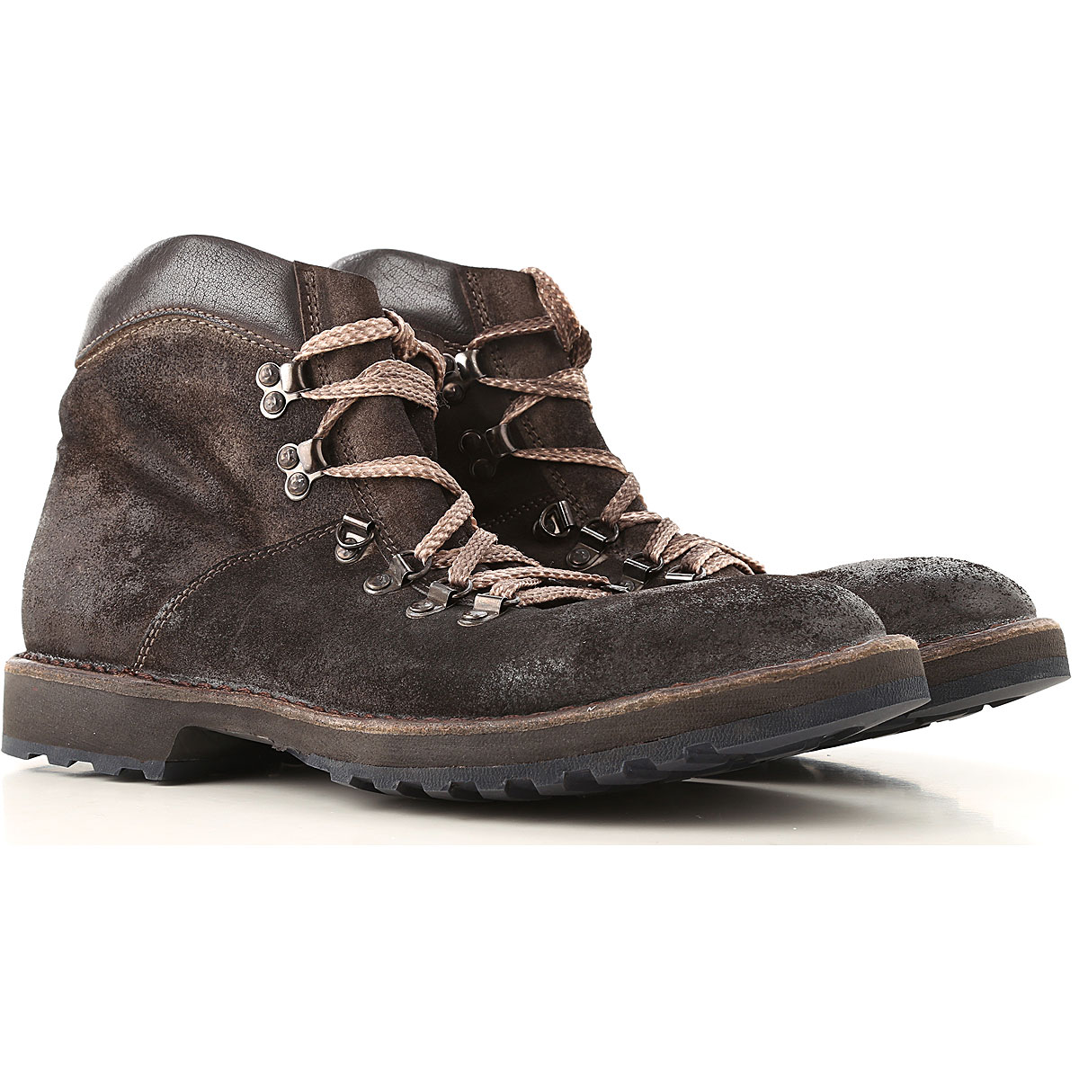 Image of Moma Boots for Men, Booties, Dark Brown, Leather, 2017, 10 7.5 8 9