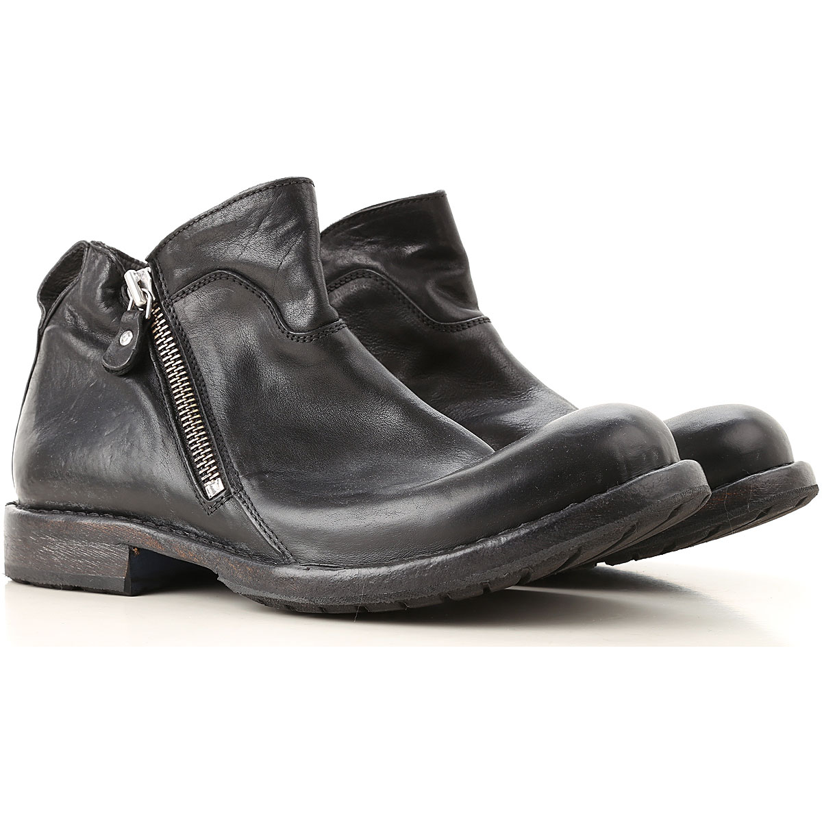 Image of Moma Boots for Men, Booties, Black, Leather, 2017, 10 8 9