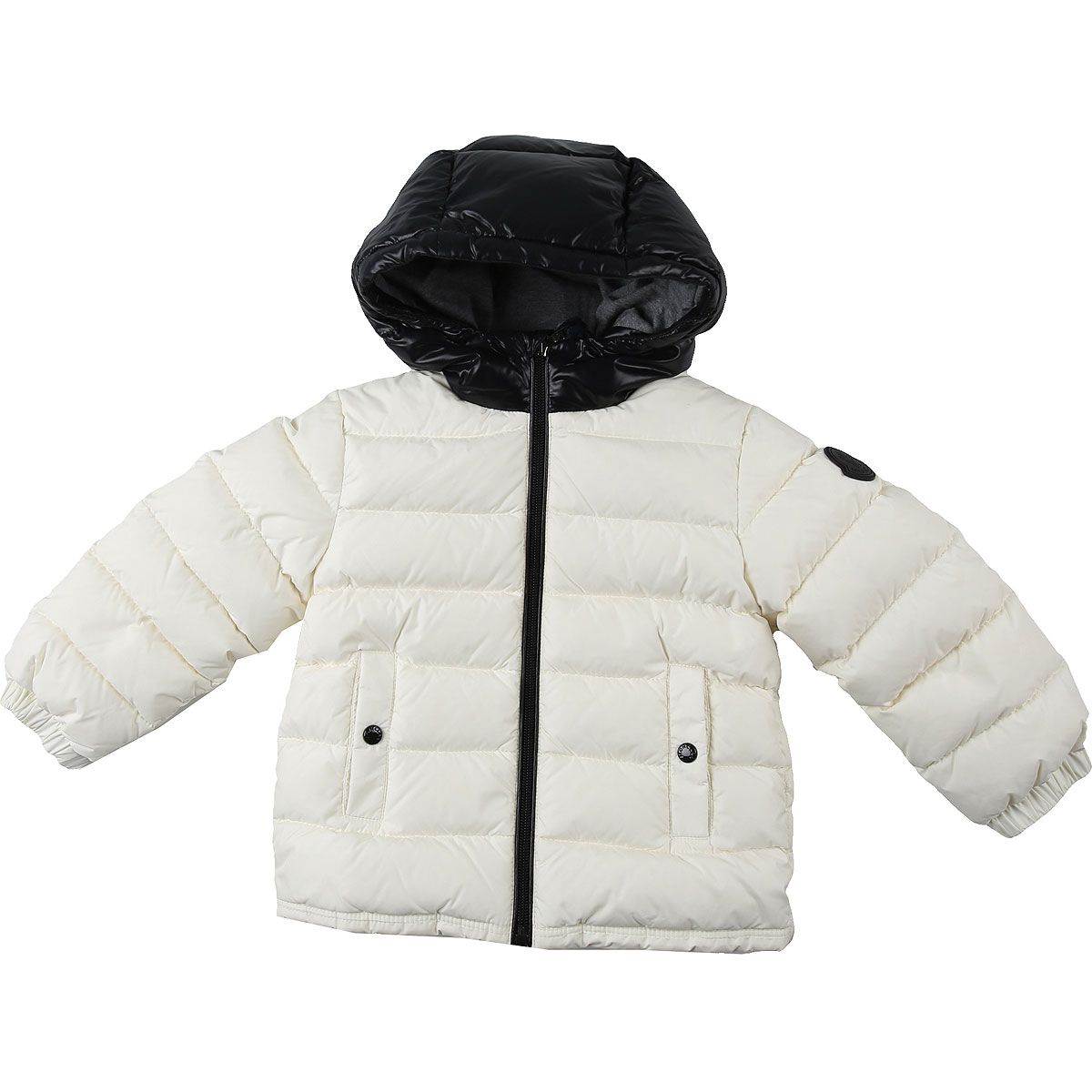 Moncler Baby Down Jacket for Boys On Sale, White, polyamide, 2019, 2Y 3Y 9M