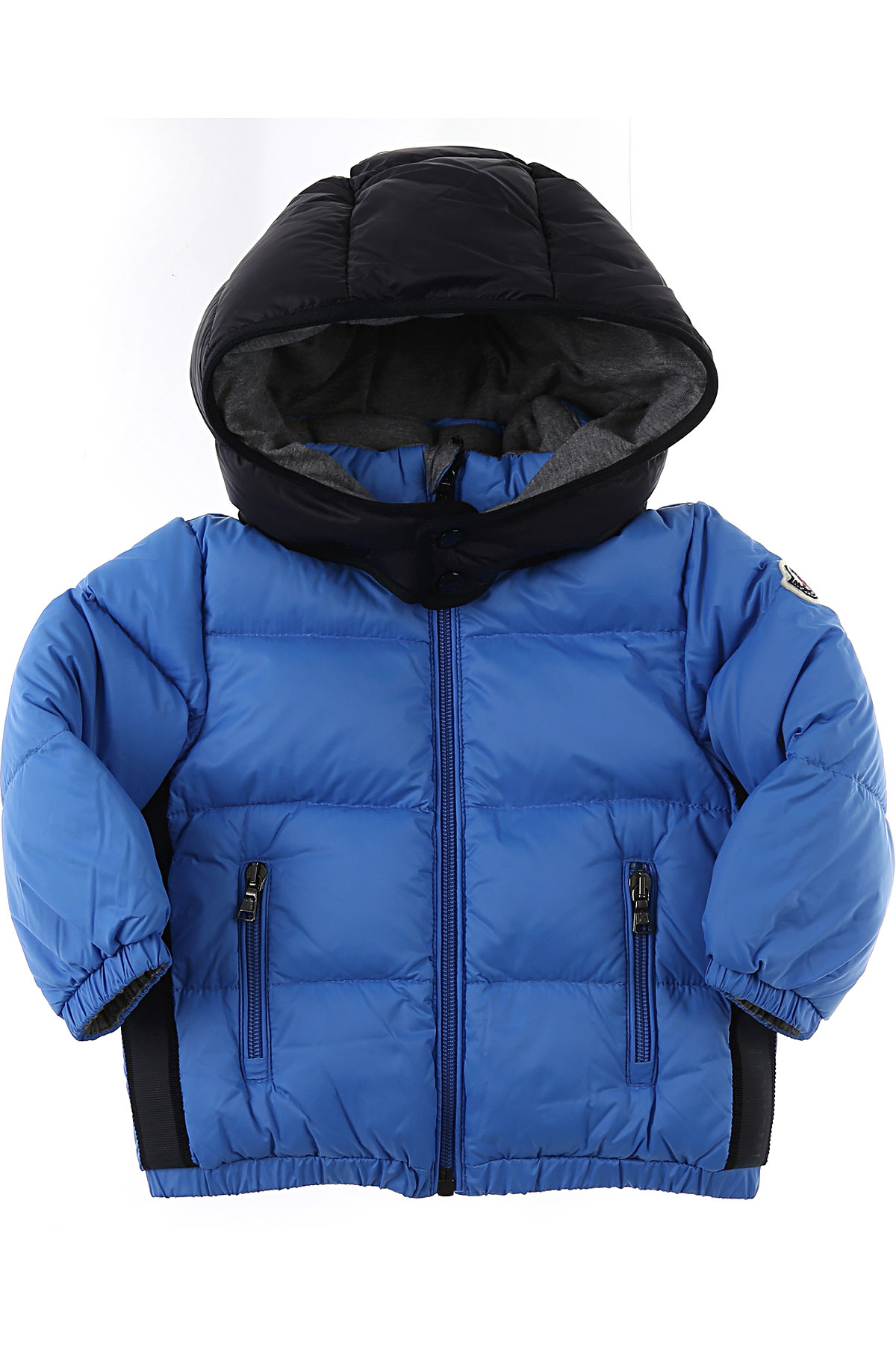 Moncler Baby Down Jacket for Boys On Sale, Sky, polyamide, 2019, 12 M 24M 3Y 9M